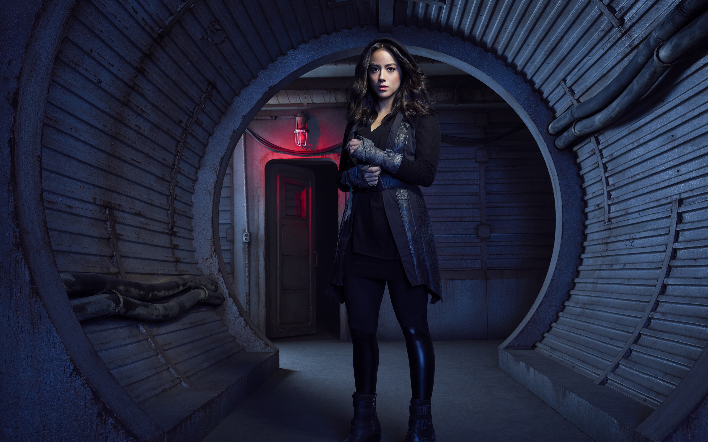 wallpaper chloe bennet as daisy johnson agents of shield season 5