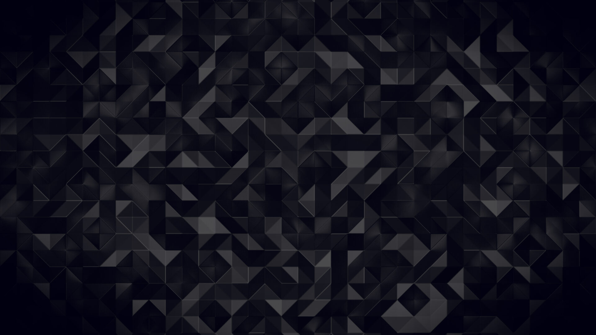 Wallpaper Darkness Triangles 4K Spirals