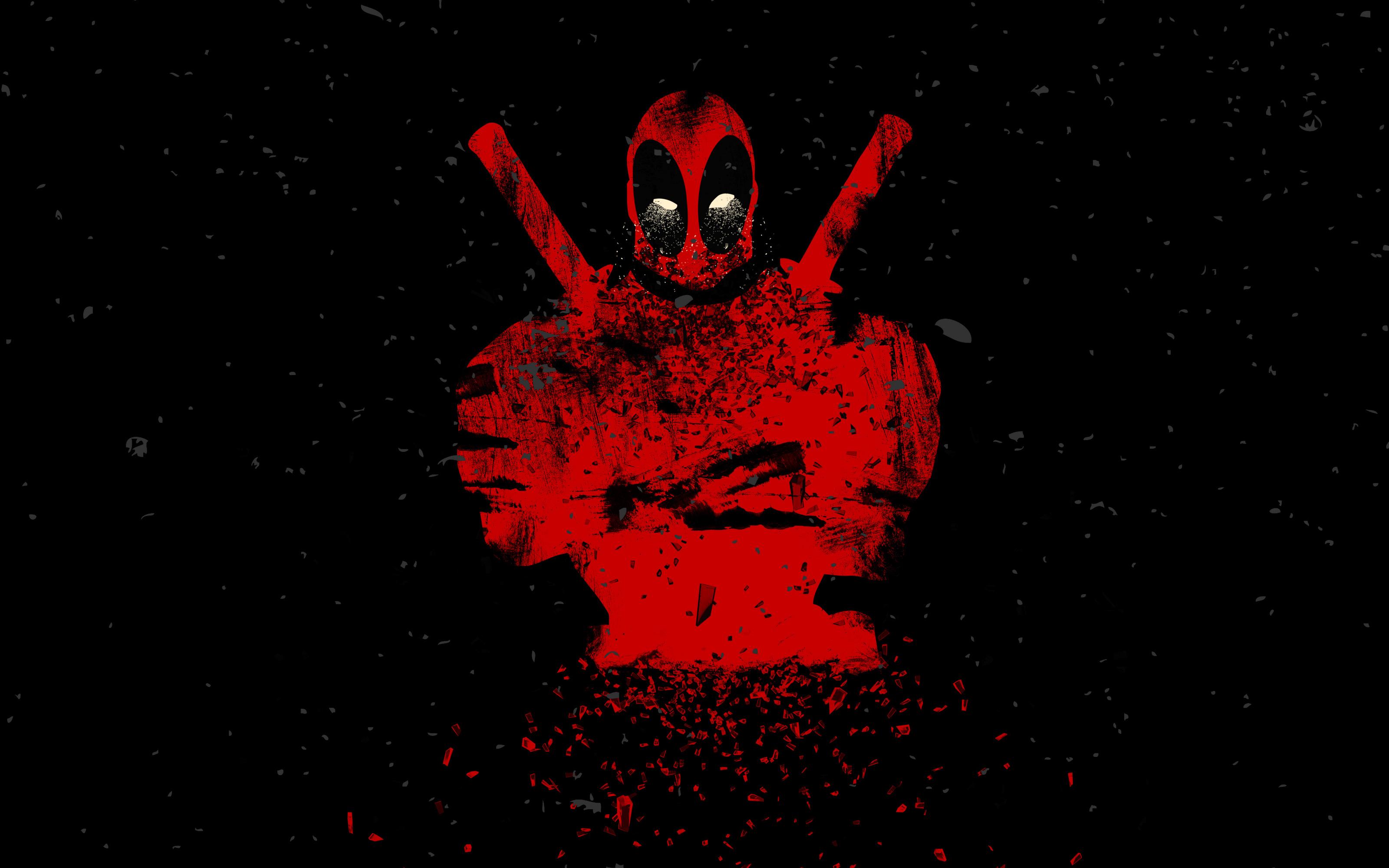 Wallpaper Deadpool Artwork Man