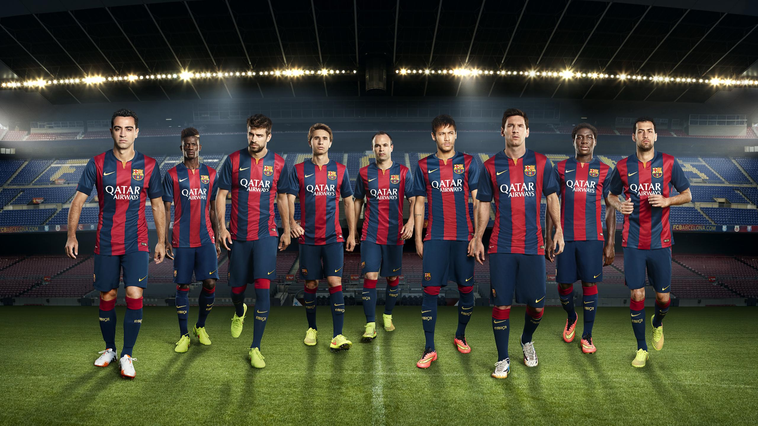 FC Barcelona Football Club Team