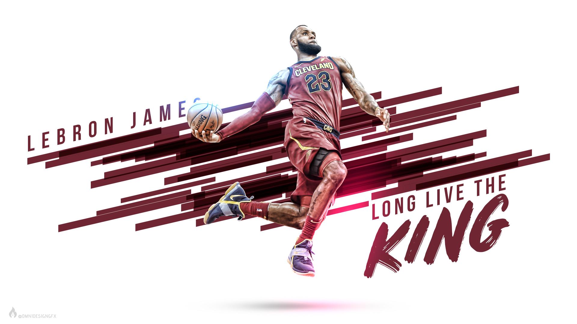 Wallpaper King LeBron James Baseball Lebron