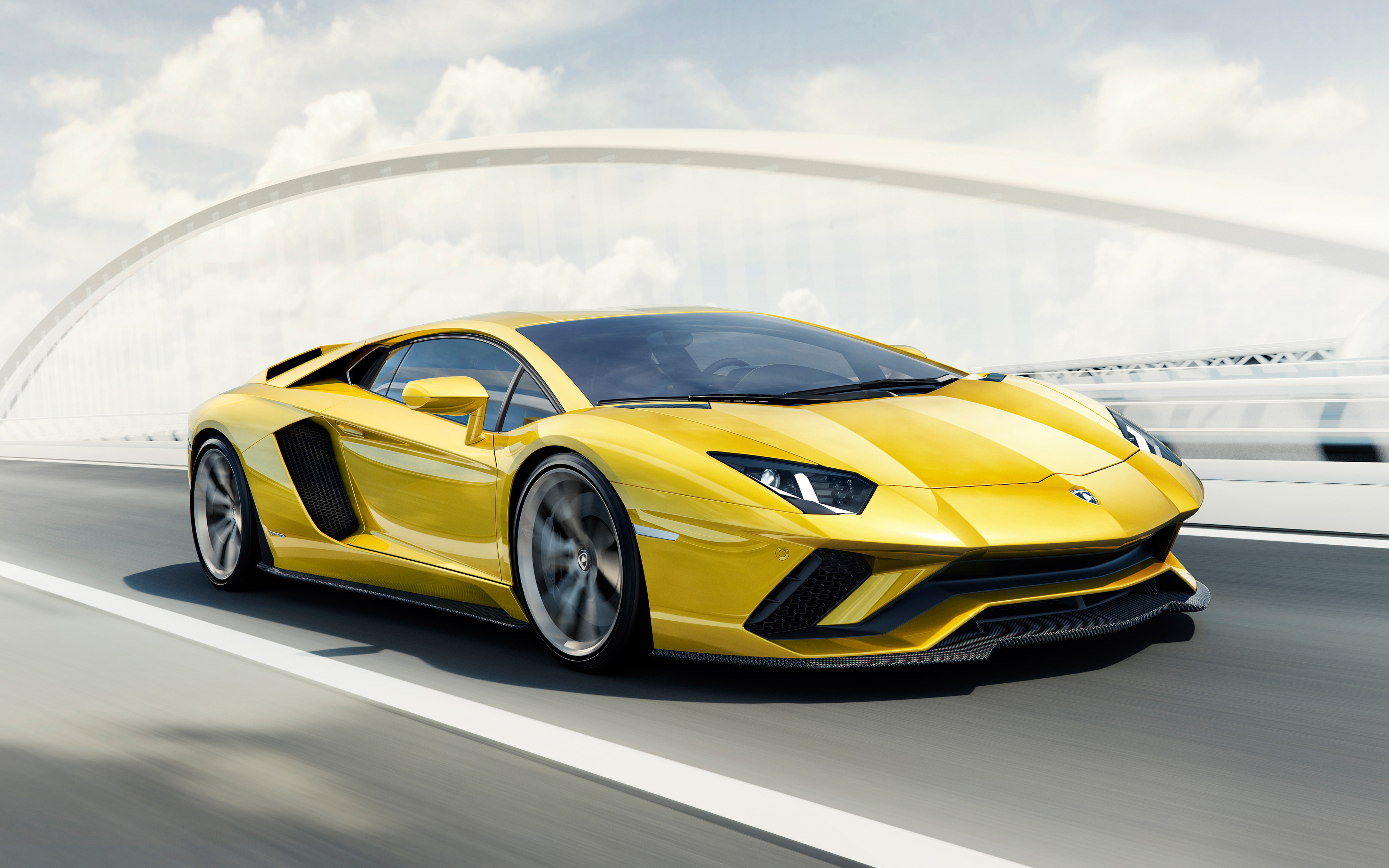 Lamborghini Aventador S 4K