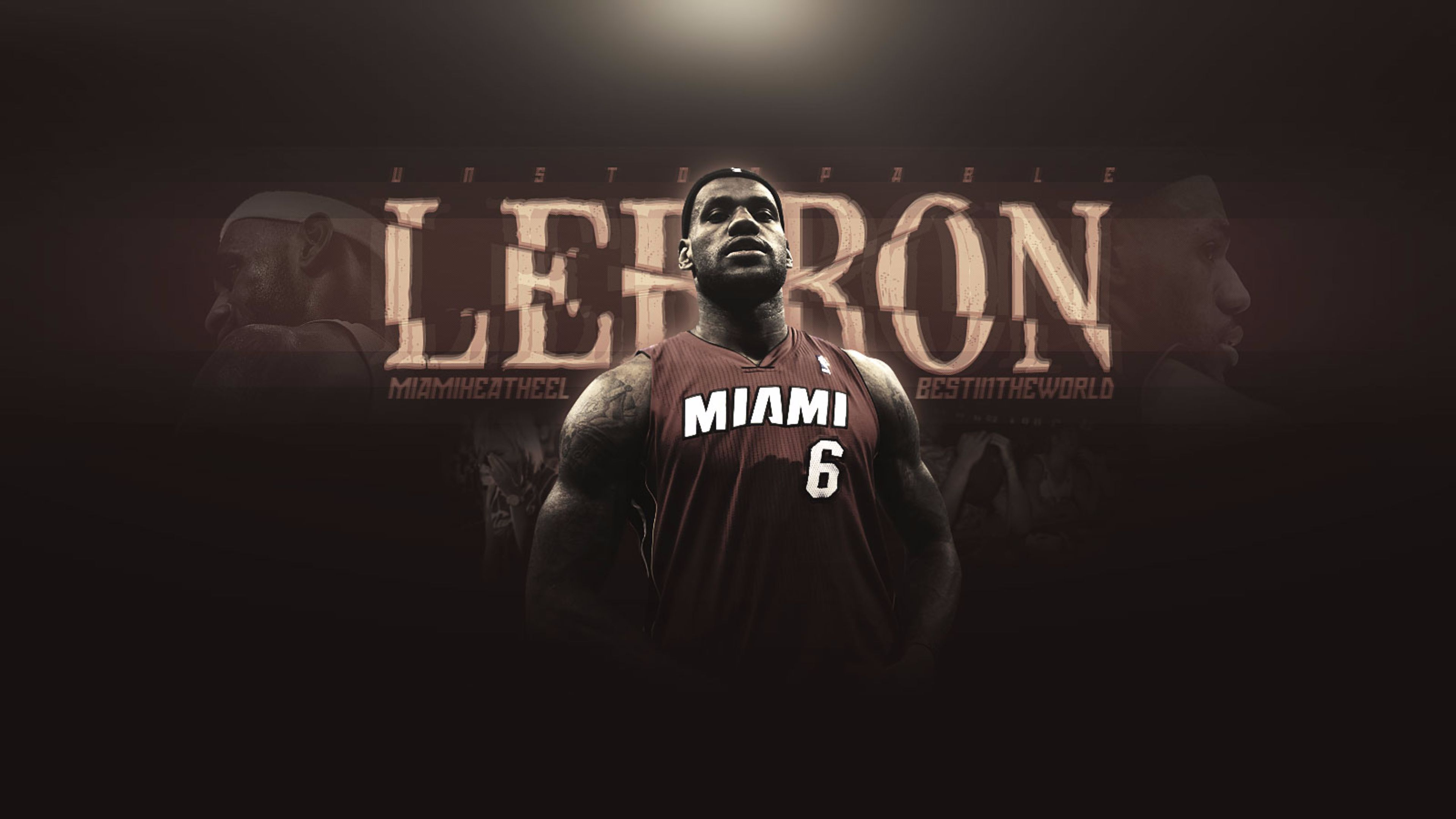 LeBron James Miami Heat 4K6745019958 - LeBron James Miami Heat 4K - Miami, Lebron, James, Heat, 2016