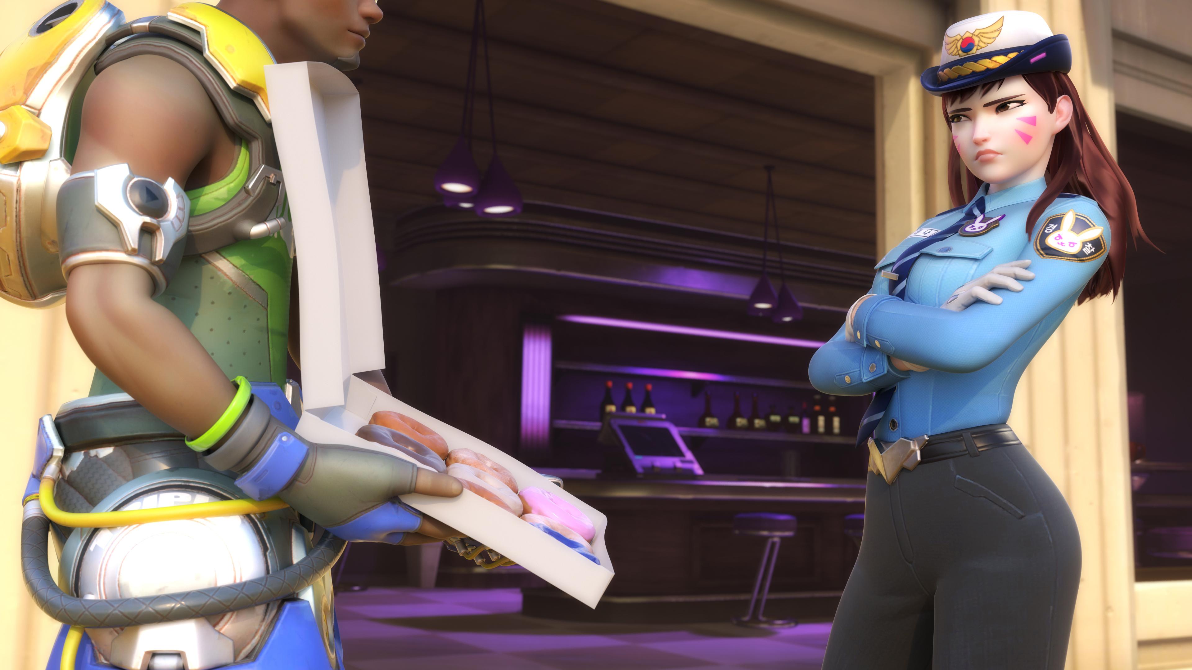 2048x2048 Widowmaker Overwatch Art Ipad Air Hd 4k: Wallpaper Officer DVa Overwatch 4K Azeroth, Dva, Officer
