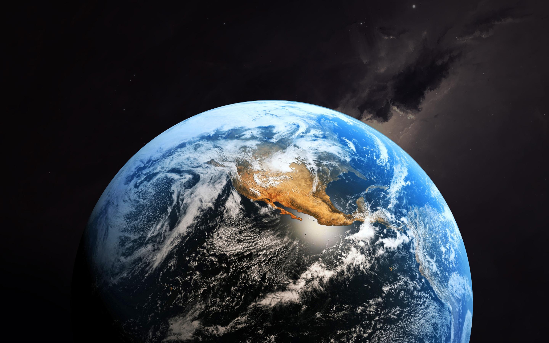 Wallpaper Planet Earth Saturn