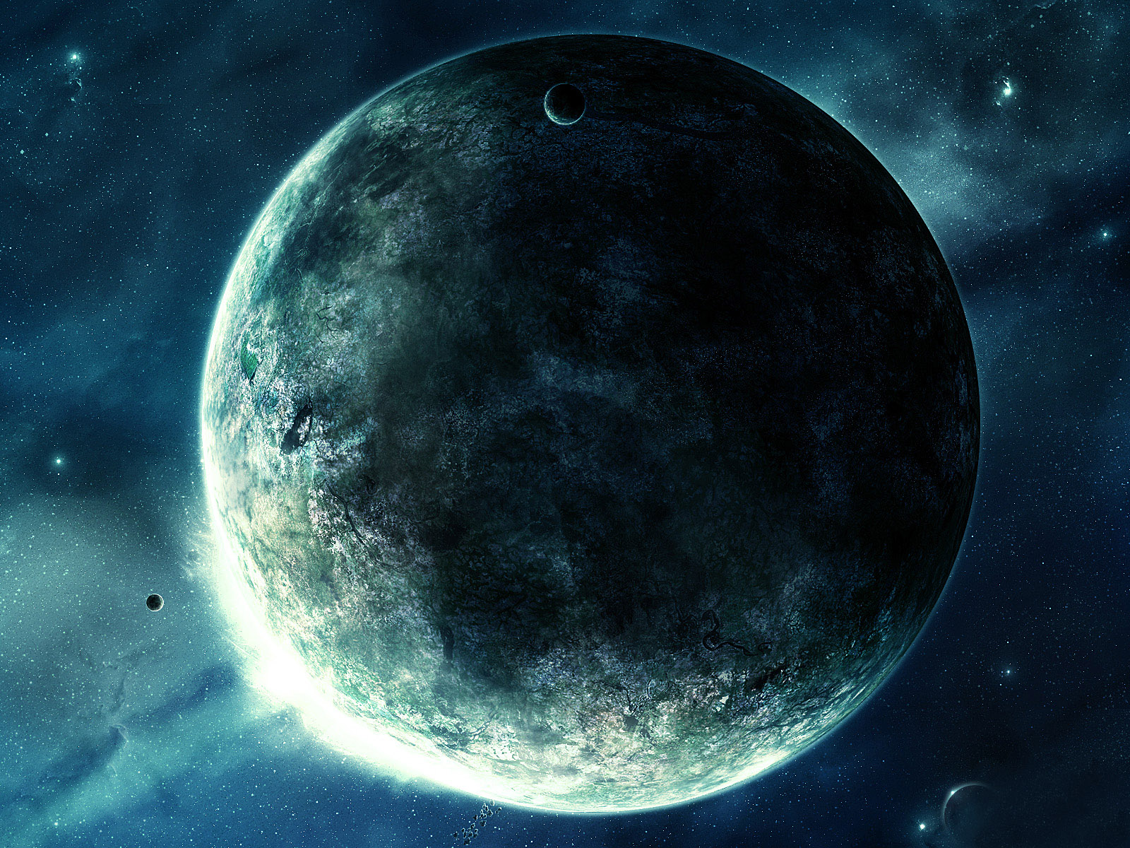 Wallpaper Planet In Space Universe