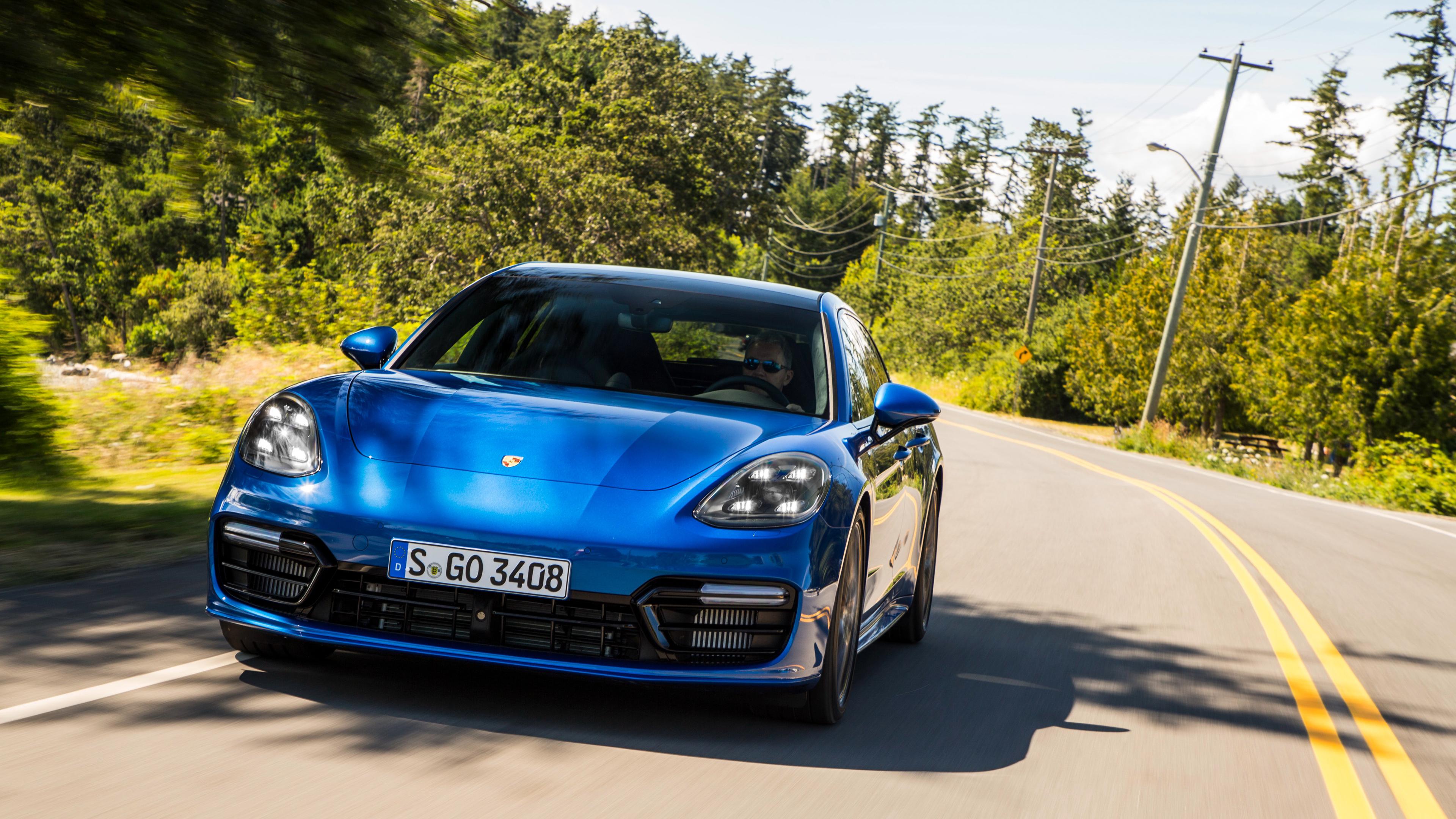 Porsche Panamera Turbo Sport Turismo 2017 4K