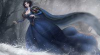 Snow White Artwork 4K256585410 200x110 - Snow White Artwork 4K - white, Snow, Fantasy, Artwork