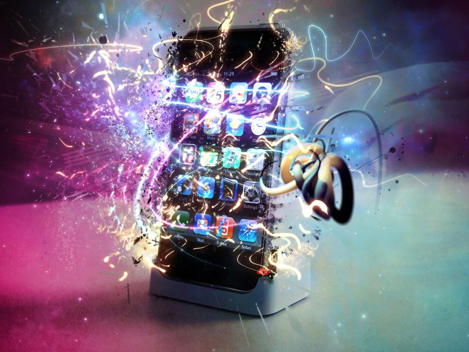 Wallpaper iphone magic iphone magic rainbow iphone magic voltagebd Image collections