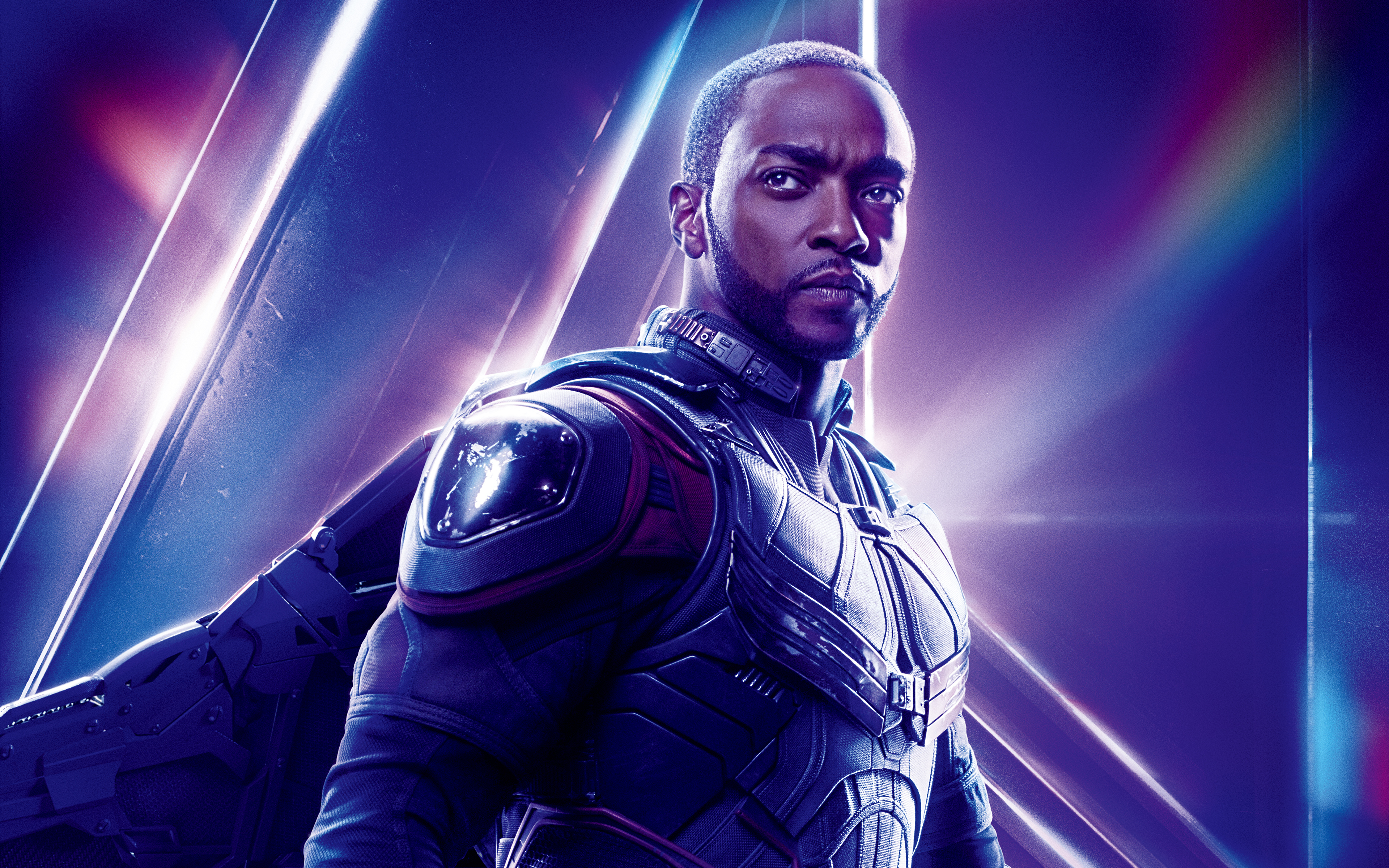 Anthony Mackie as Falcon in Avengers Infinity War 5K5552910223 - Anthony Mackie as Falcon in Avengers Infinity War 5K - War, Mackie, Infinity, Falcon, Avengers, Anthony, 2018