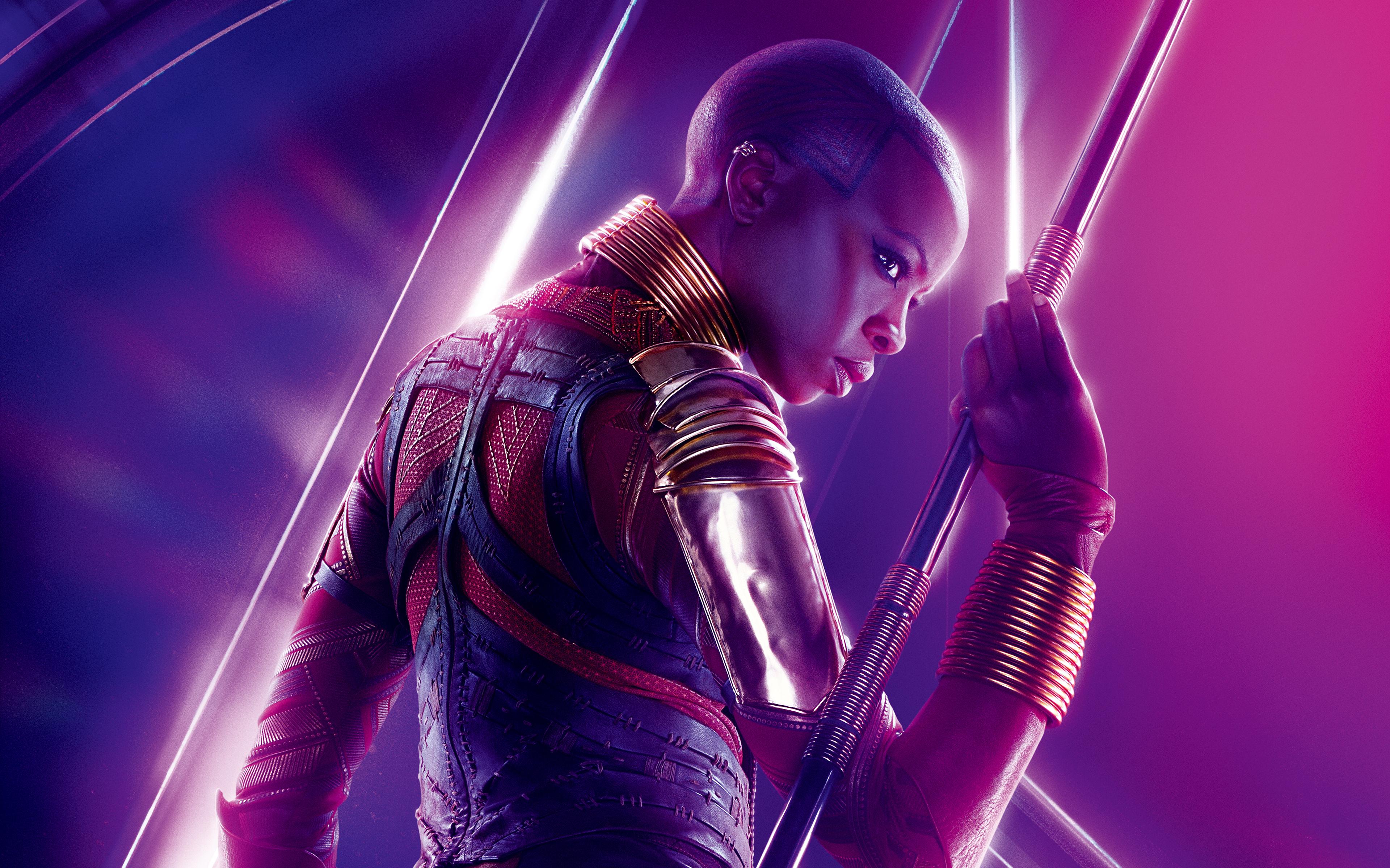 2048x2048 The Incredibles 2 Movie 2018 Ipad Air Hd 4k: Wallpaper Danai Gurira As Okoye Avengers Infinity War 5K