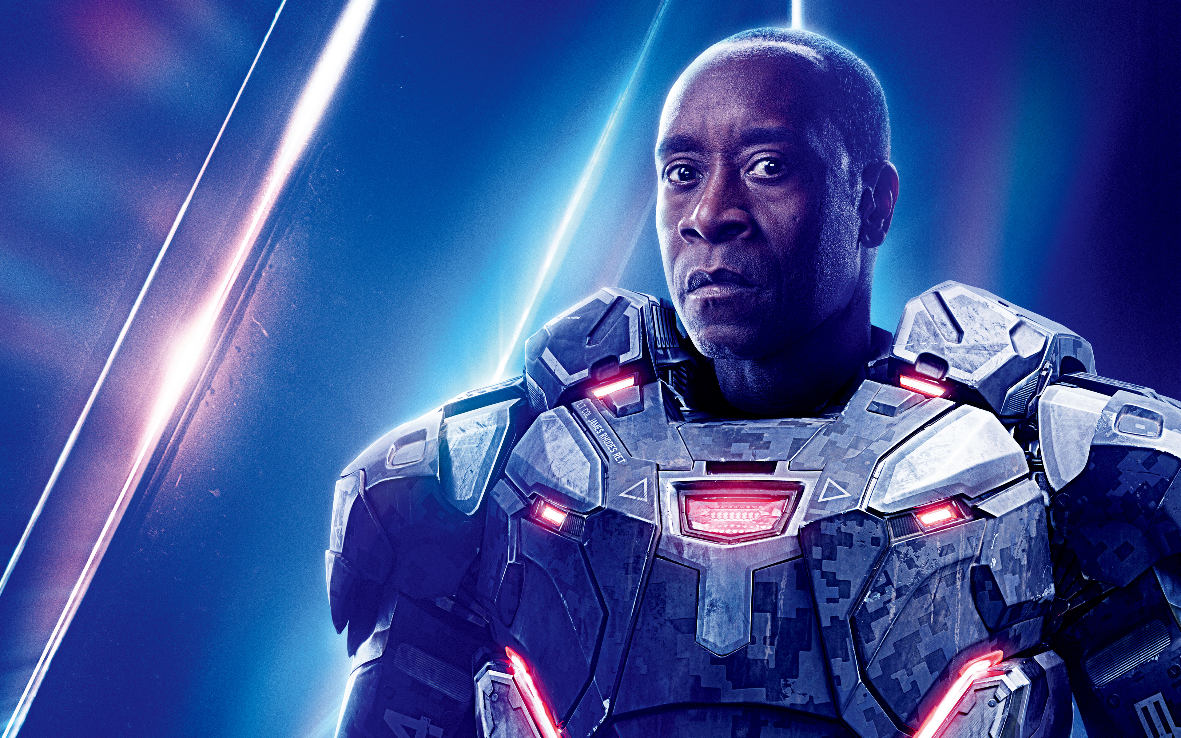 Don Cheadle as War Machine in Avengers Infinity War 5K4602217610 - Don Cheadle as War Machine in Avengers Infinity War 5K - War, Okoye, Machine, Infinity, Don, Cheadle, Avengers