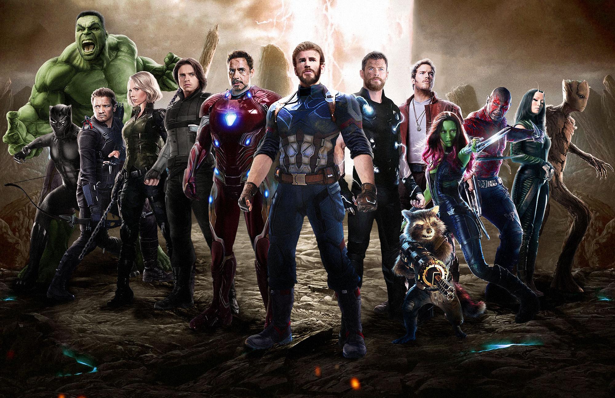 Avengers Infinity War 2018 Movie Fan Art