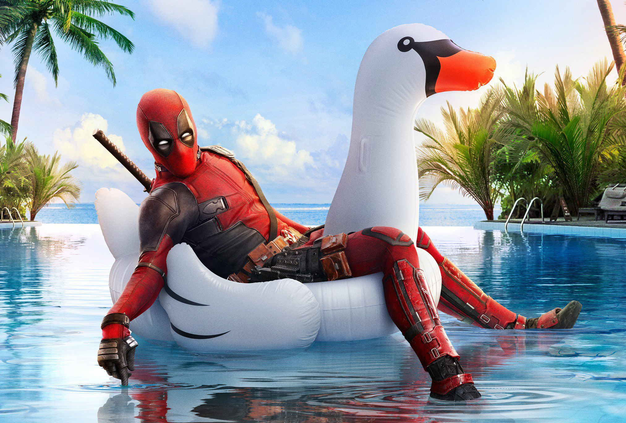 Deadpool 2 Coachella Poster - Deadpool 2 Coachella Poster - Wallpapers, 4k