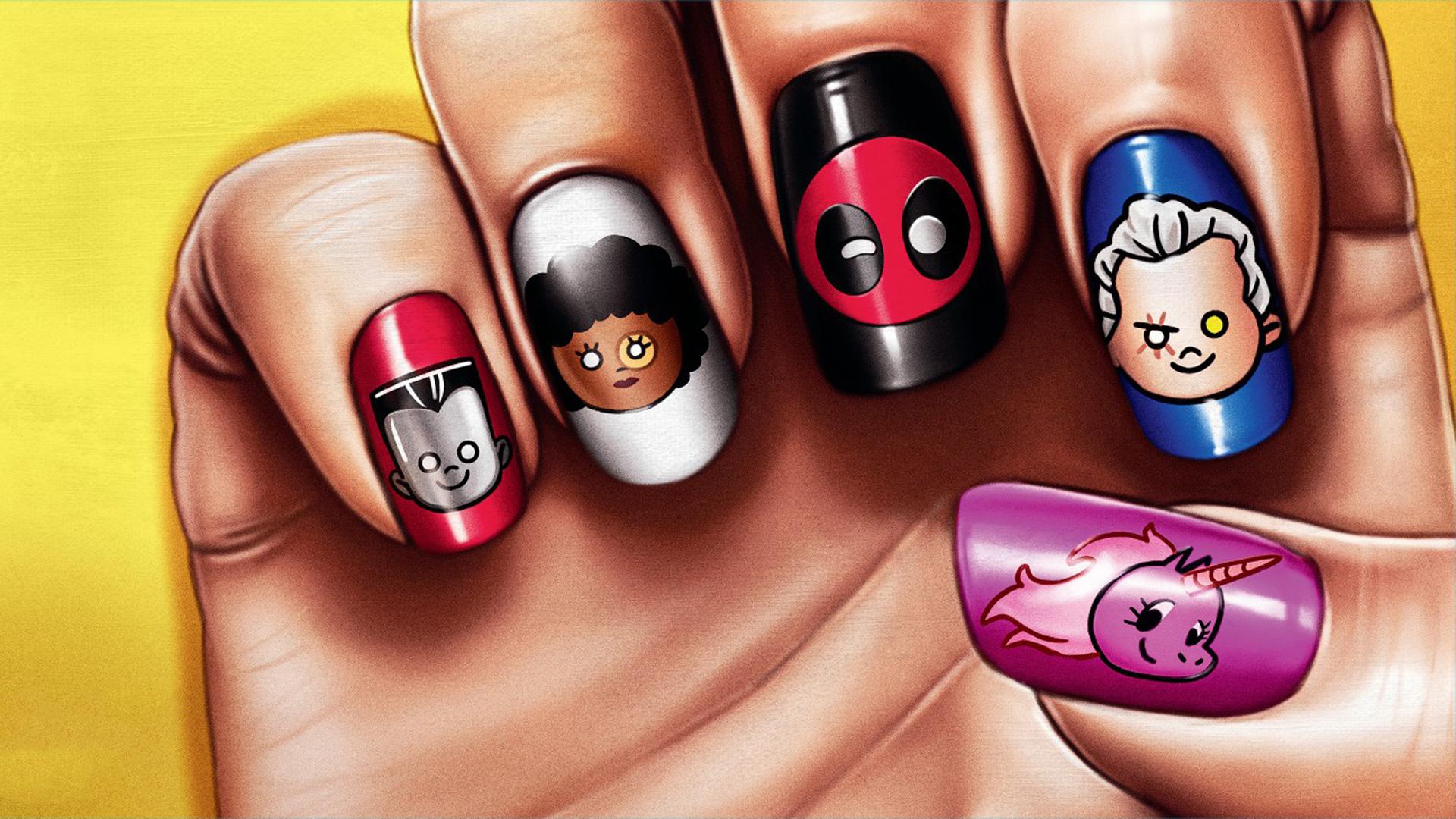 Deadpool 2 Movie Nail Paint Poster - Deadpool 2 Movie Nail Paint Poster - Wallpapers, 4k