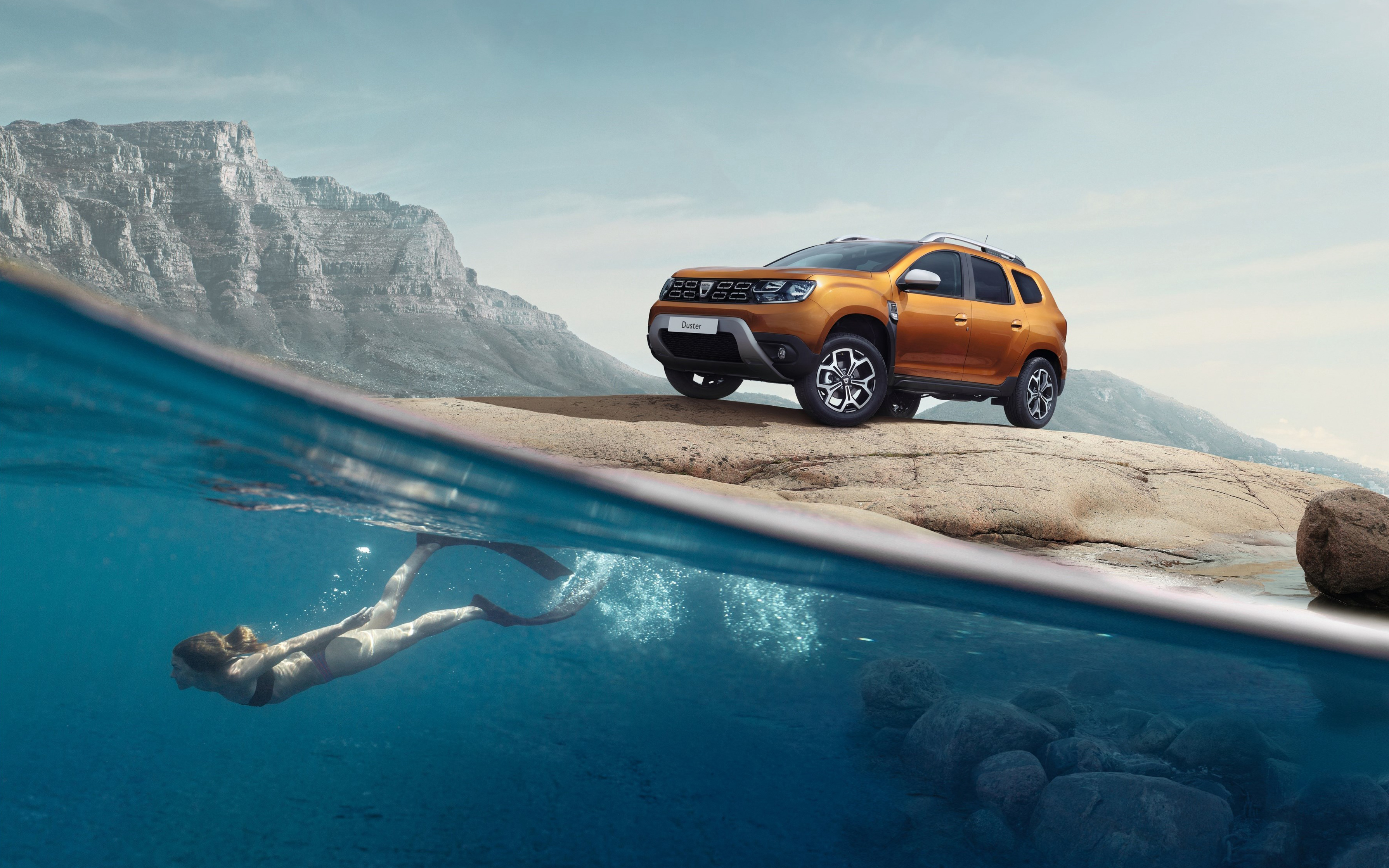 Wallpaper 4k 2018 Dacia Duster 2018 Dacia Duster Gte