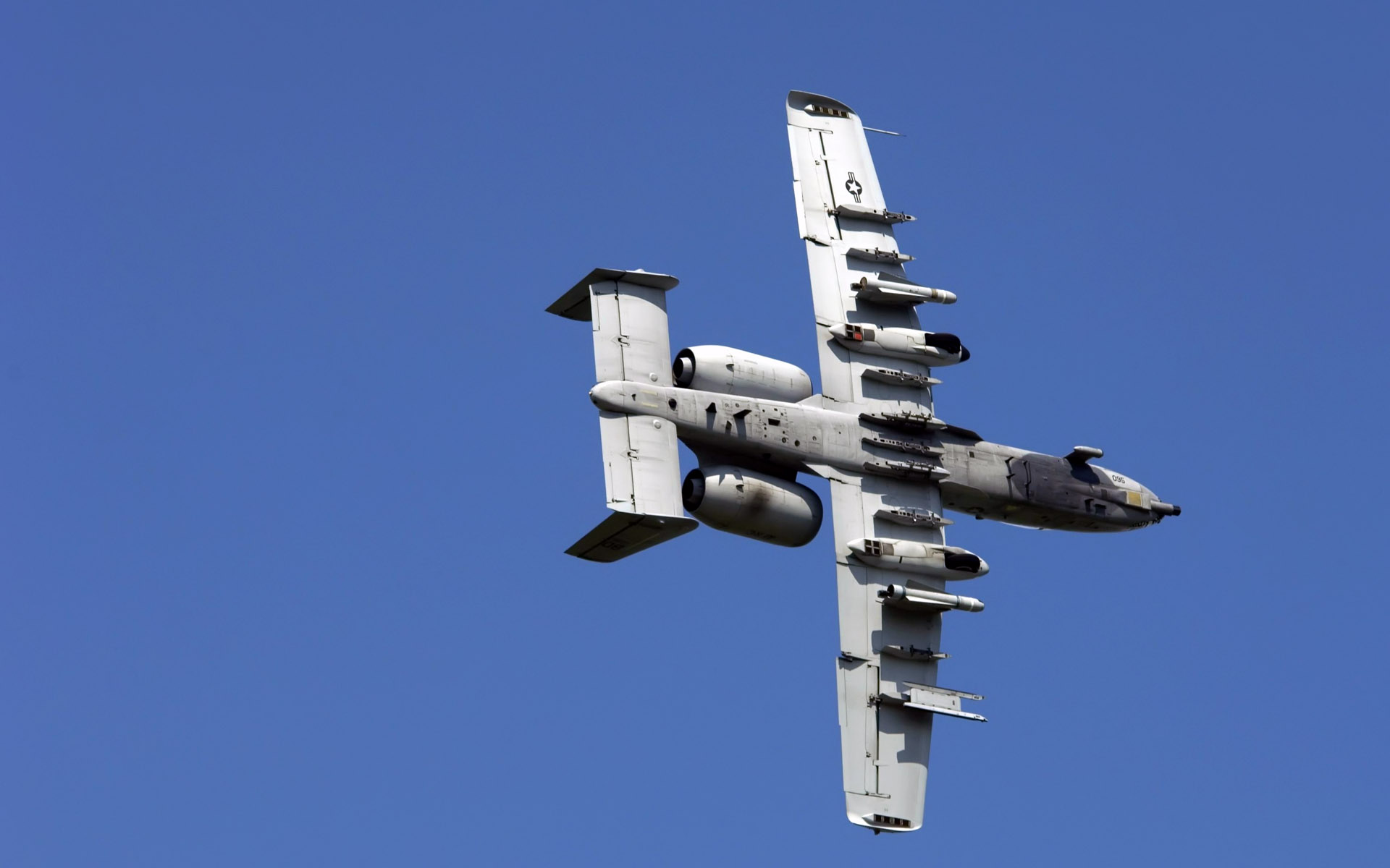 A 10 Thunderbolt Approaching Target9527711443 - A 10 Thunderbolt Approaching Target - Thunderbolt, Target, Approaching, Airforce