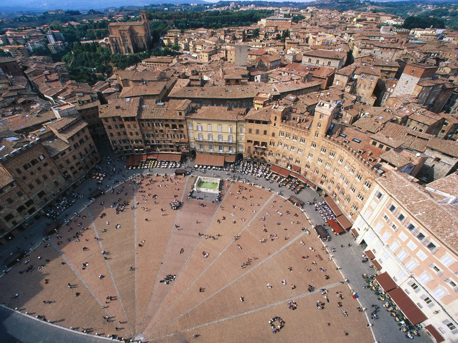 Aerial View of Piazza del Campo Italy470589399 - Aerial View of Piazza del Campo Italy - View, Town, Piazza, Italy, Campo, Aerial