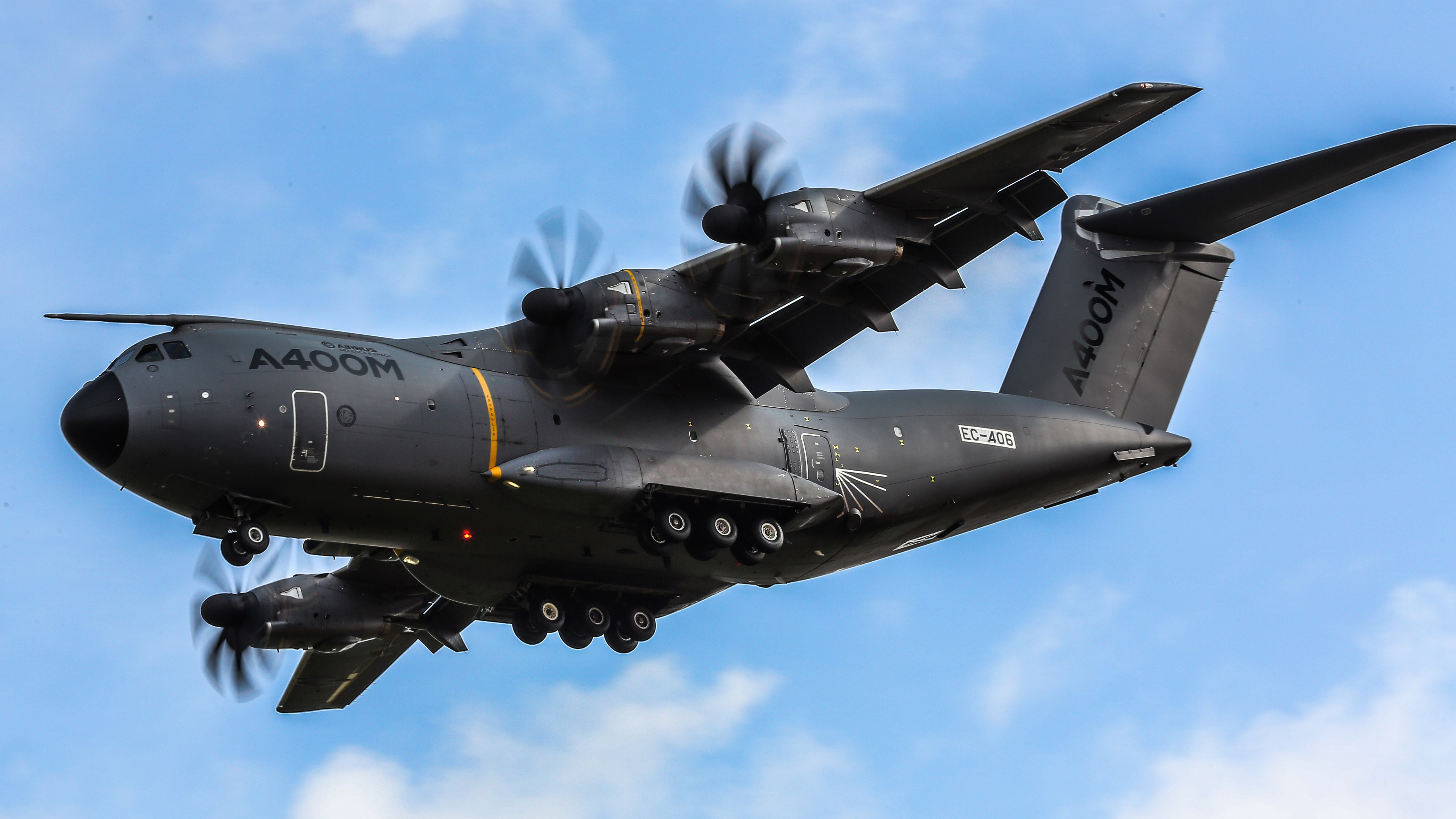 Airbus A400M Atlas Military Transport Aircraft9442815661 - Airbus A400M Atlas Military Transport Aircraft - Transport, Military, EC665, Atlas, aircraft, Airbus, A400M