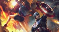 America Chavez and Captain America Artwork672334078 200x110 - America Chavez and Captain America Artwork - Graident, Chavez, Captain, Artwork, and, America