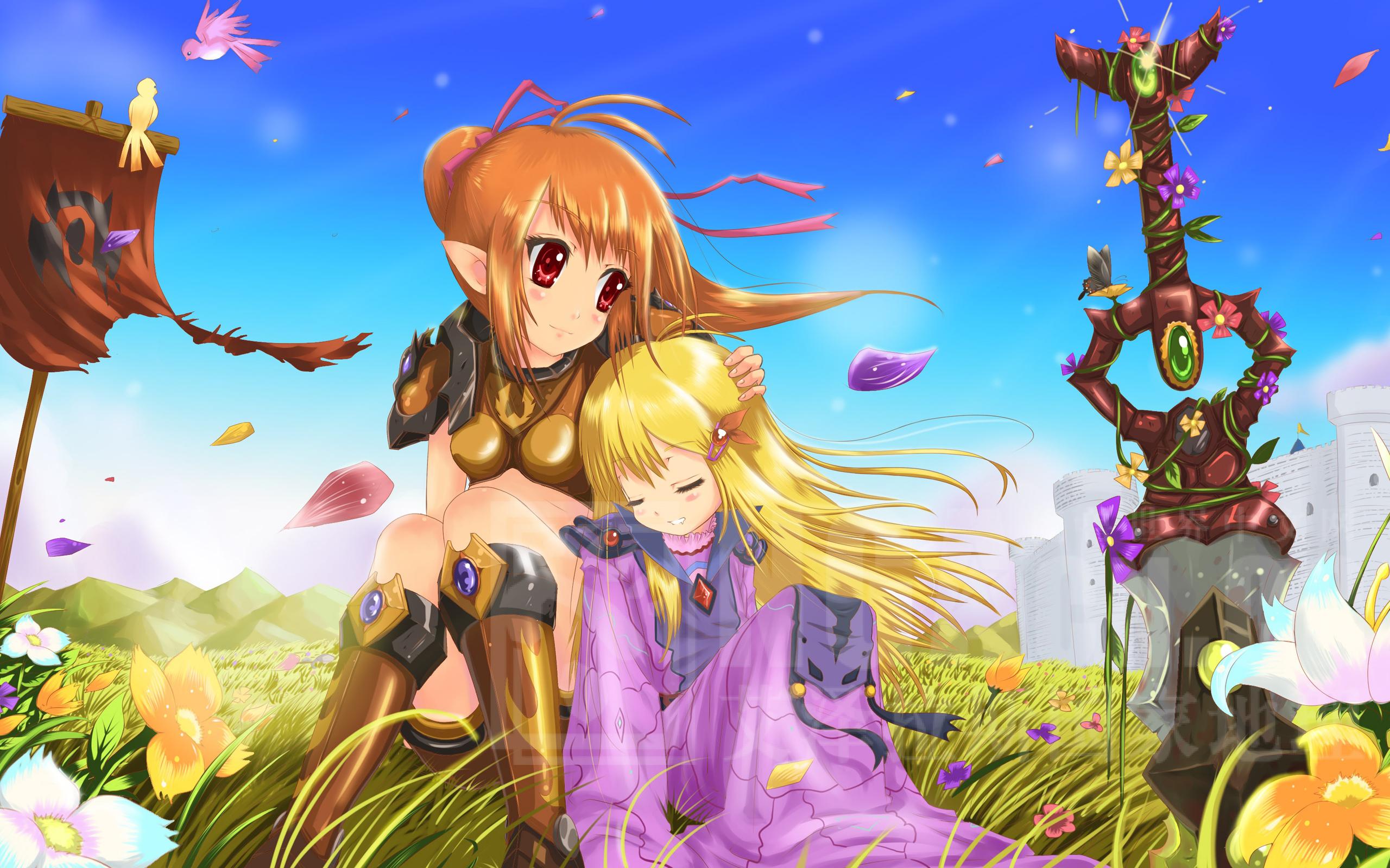 Wallpaper 4k Anime Girls Anime Girls Knute