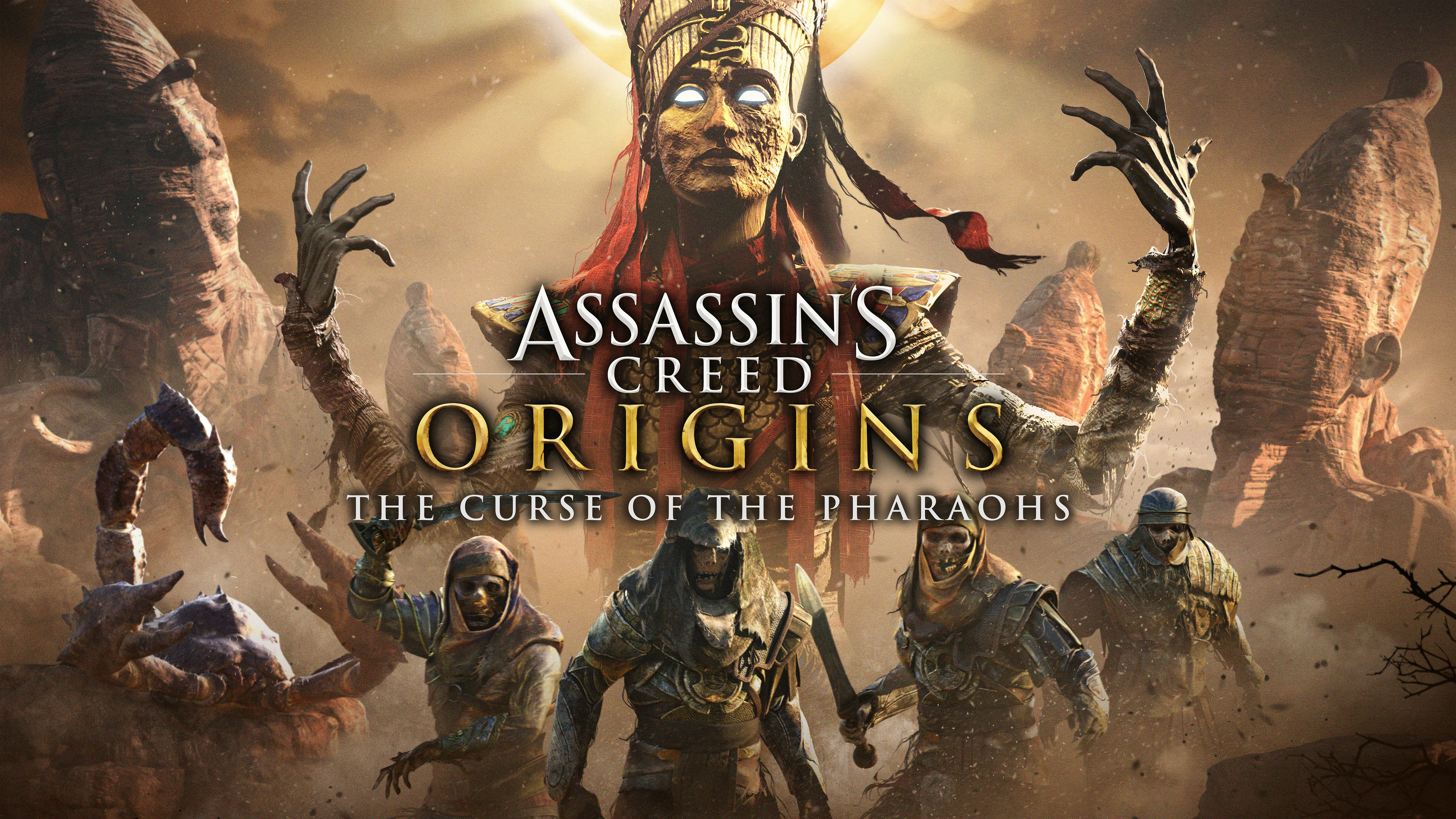 Assassins Creed Origins The Curse of The Pharoahs 5K4773916867 - Assassins Creed Origins The Curse of The Pharoahs 5K - The, Pharoahs, Origins, Game, Curse, Creed, Assassins