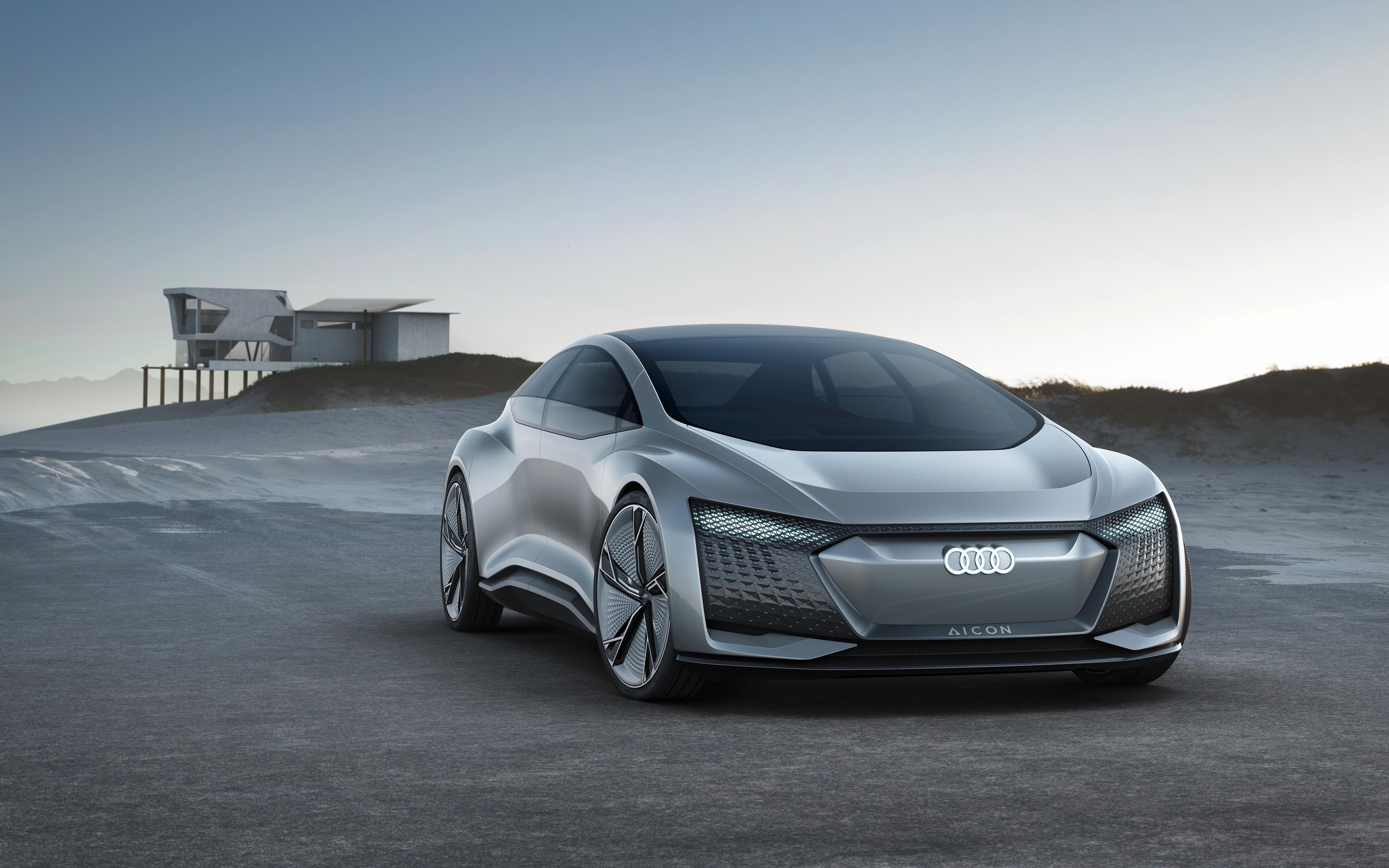 Wallpaper 4k Audi Aicon Autonomous Concept Car 4k Aicon