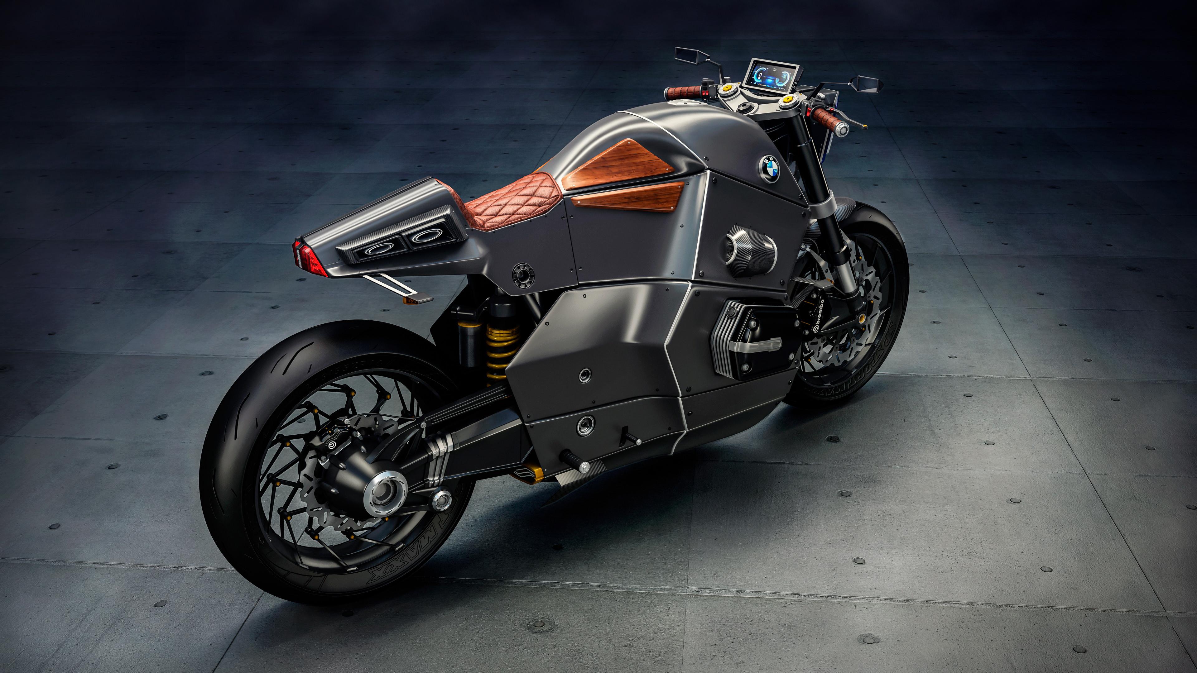 Wallpaper 4k BMW Urban Racer Future Bike 4K 2017, Bike, bmw