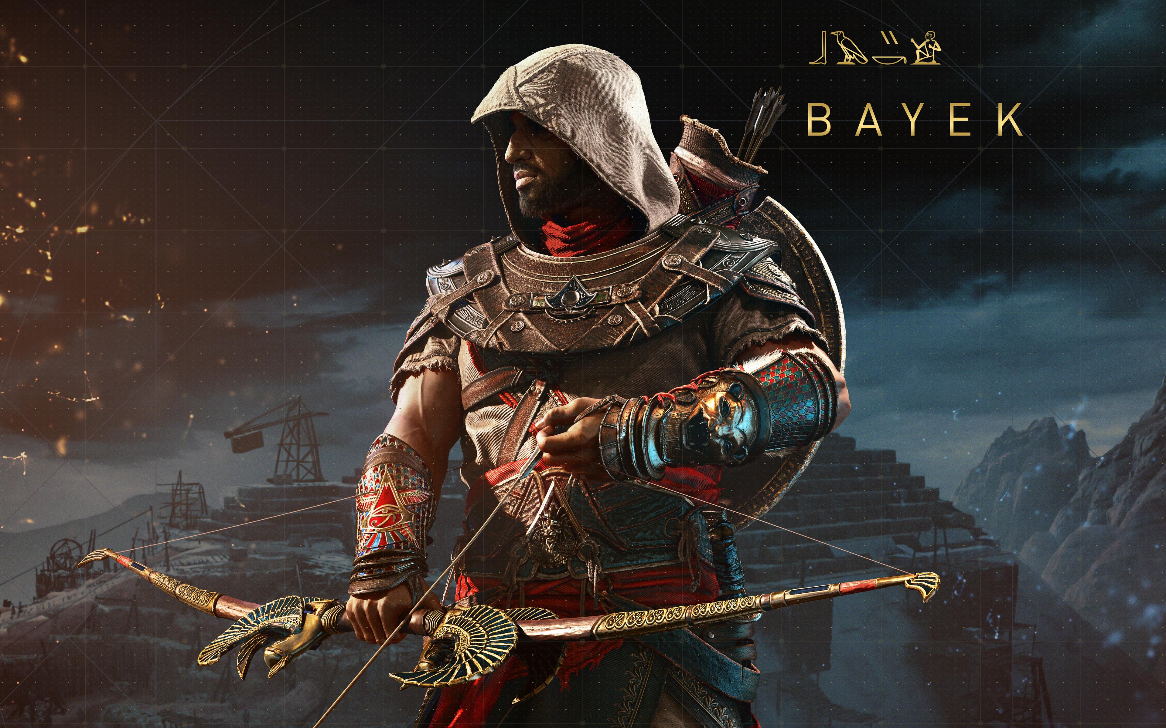Wallpaper 4k Bayek Assassins Creed Origins The Hidden Ones 4k 8k