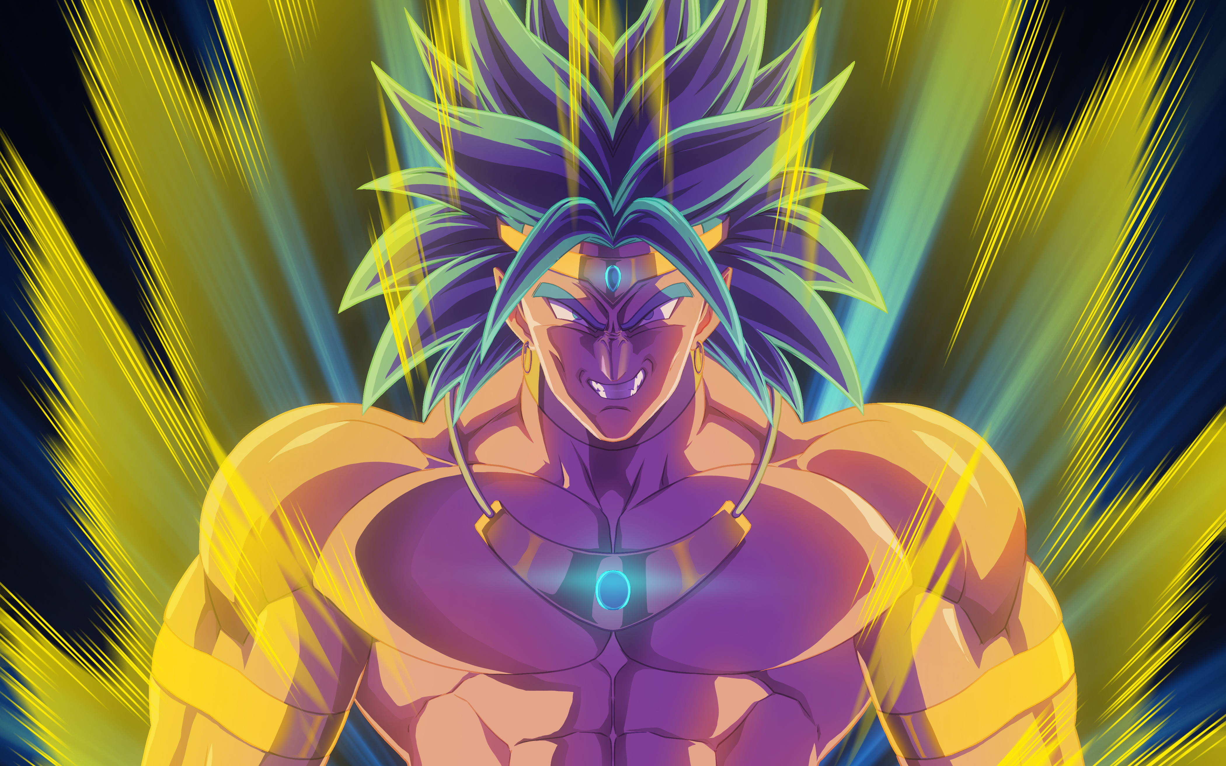 Wallpaper 4k Broly Dragon Ball Z Artwork 4k Artwork Ball Broly