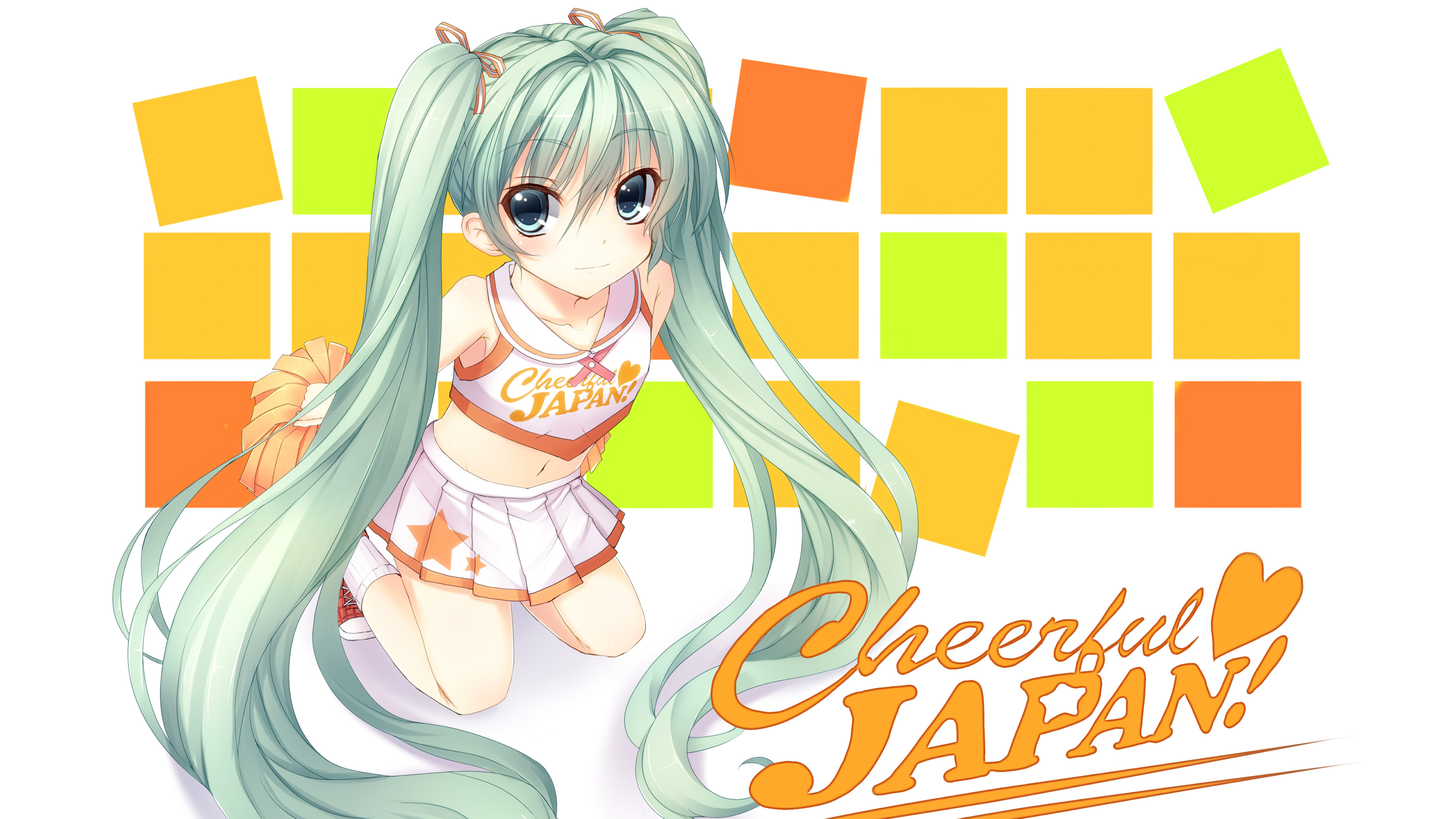 Cheerful Japan Hatsune Miku Vocaloid499408637 - Cheerful Japan Hatsune Miku Vocaloid - Vocaloid, Miku, Japan, Hatsune, Cheerful