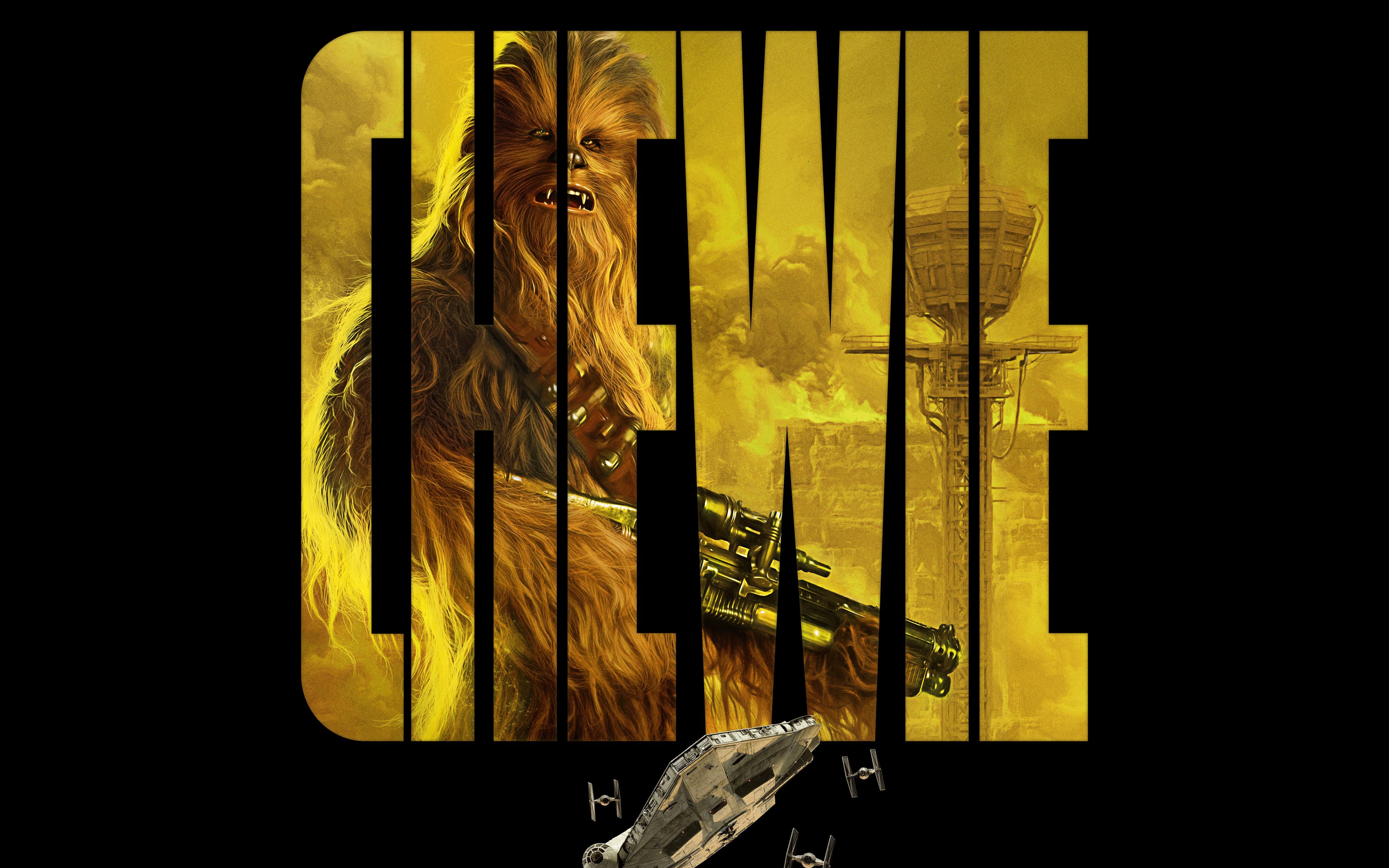 Wallpaper 4k Chewie In Solo A Star Wars Story 4k 8k Chewie Lawrence Solo Star Story Wars