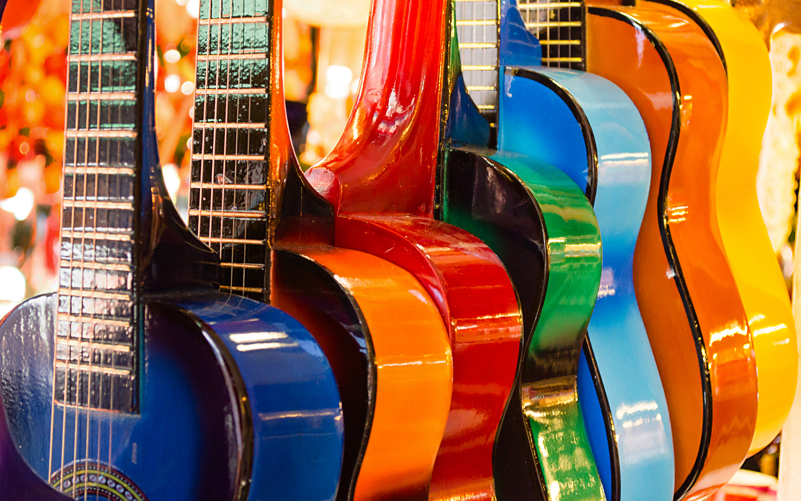 Colorful Guitars HD3696318480 - Colorful Guitars HD - Scandroid, Guitars, Colorful