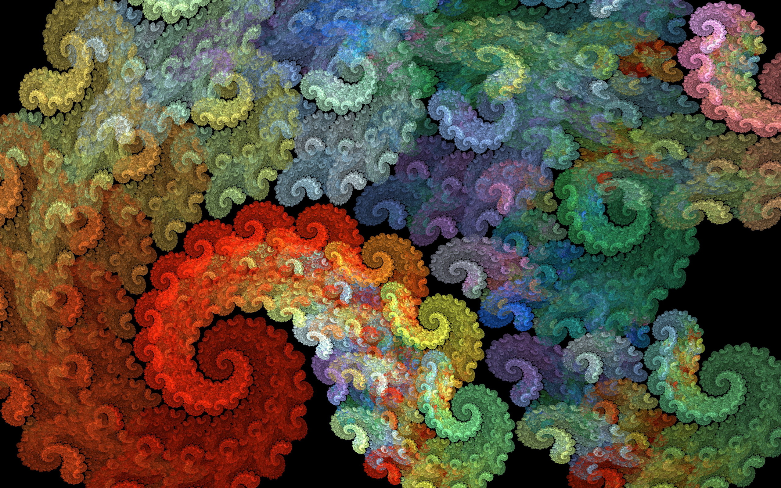 Colorful Spiral Abstraction3882112092 - Colorful Spiral Abstraction - Spiral, Colorful, Abstraction, abstract