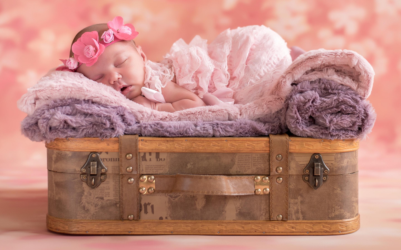 Wallpaper 4k Cute Baby Sleep Baby Cute Infant Sleep