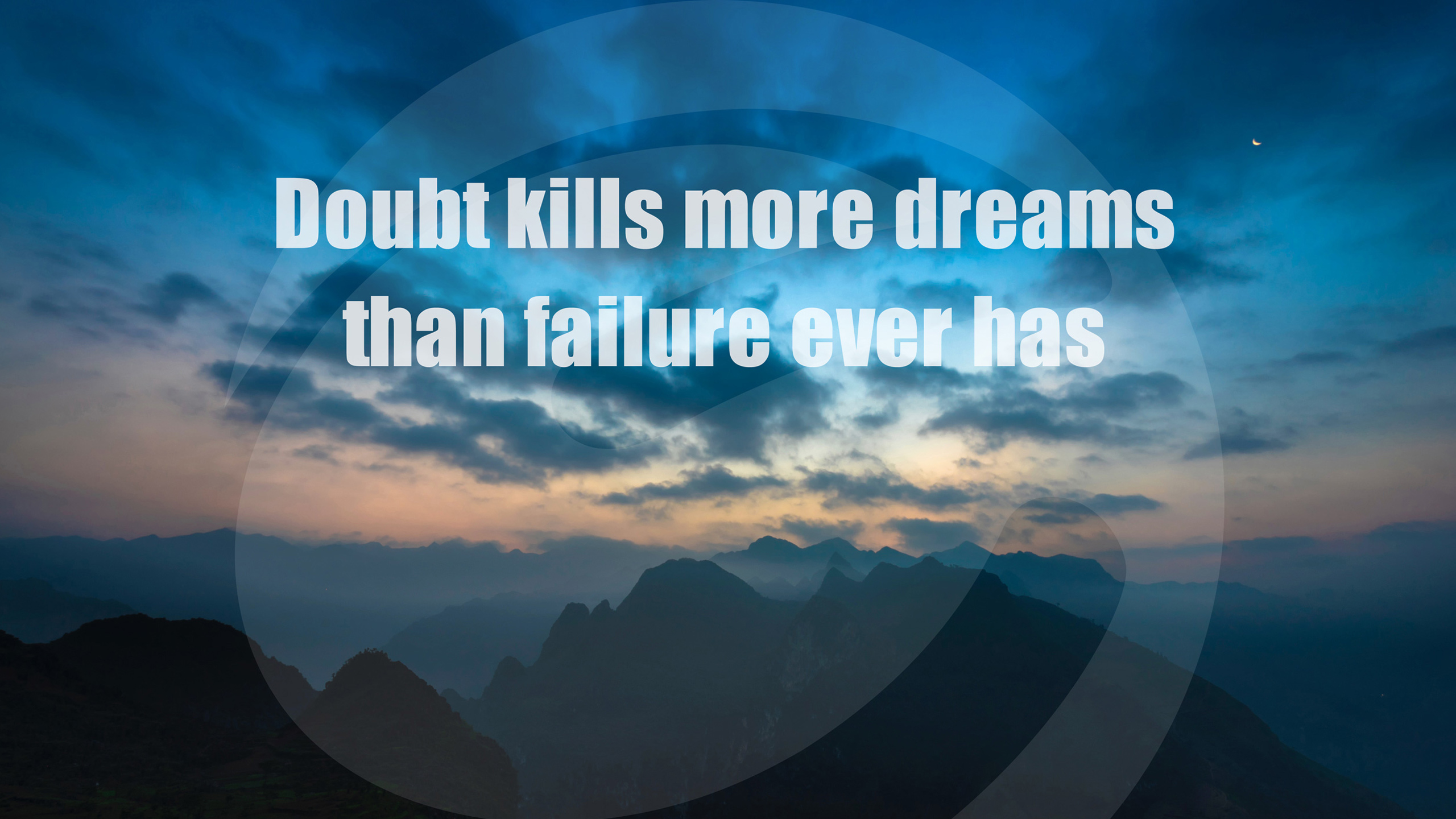Doubt Kills Dreams Failure Quote268768386 - Doubt Kills Dreams Failure Quote - Quote, Kills, Failure, Dreams, Doubt, Compared