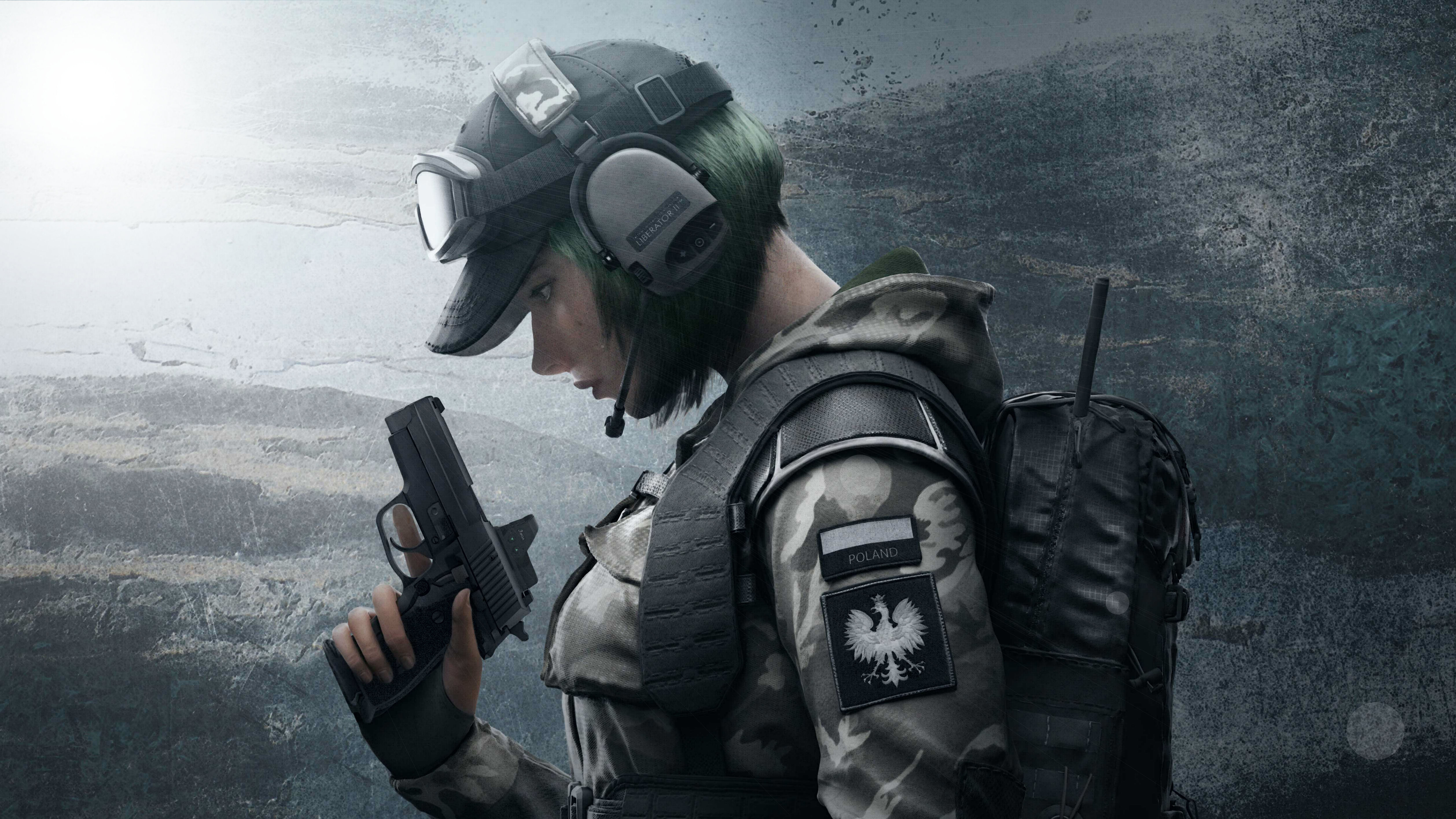 Ela Tom Clancys Rainbow Six Siege 5K1636111942 - Ela Tom Clancys Rainbow Six Siege 5K - Tom, Six, Siege, rainbow, Ela, clancys