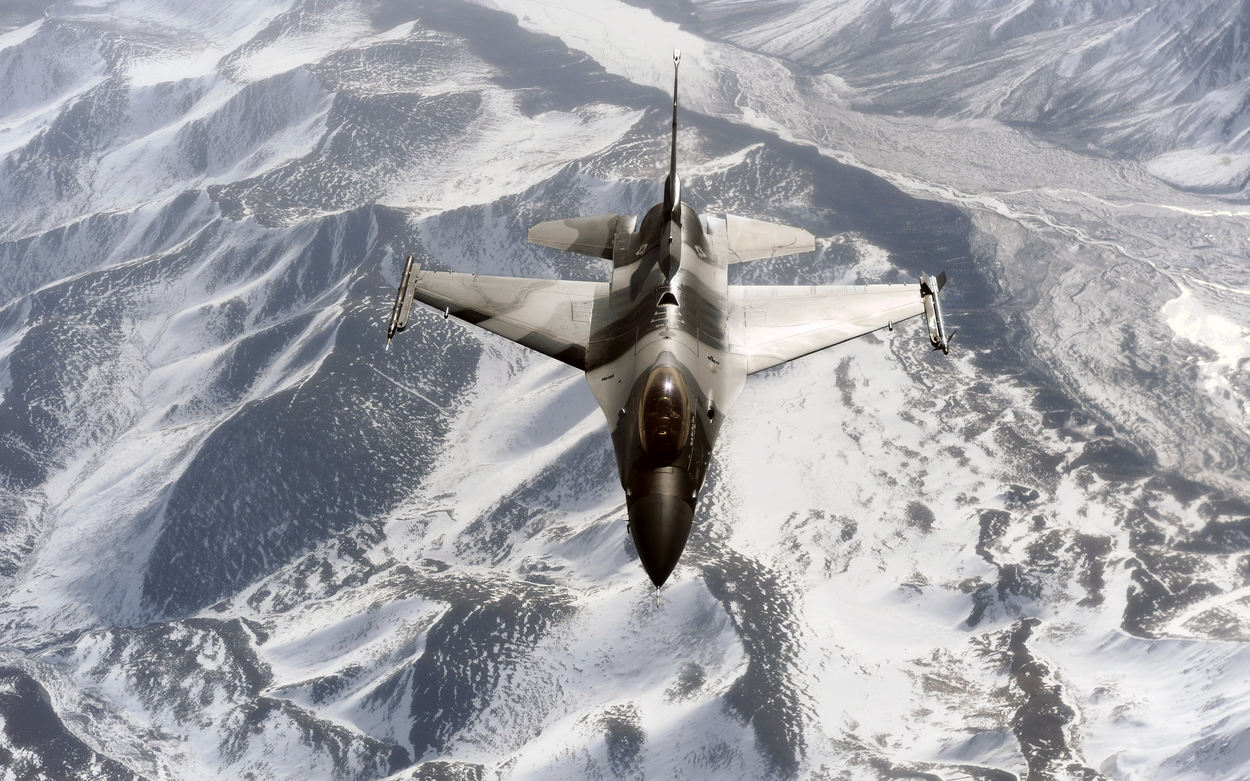 F 16 Aggressor Over the Joint Pacific Alaskan Range9720415454 - F 16 Aggressor Over the Joint Pacific Alaskan Range - Range, Pacific, Over, McGuire, Joint, Alaskan, Aggressor