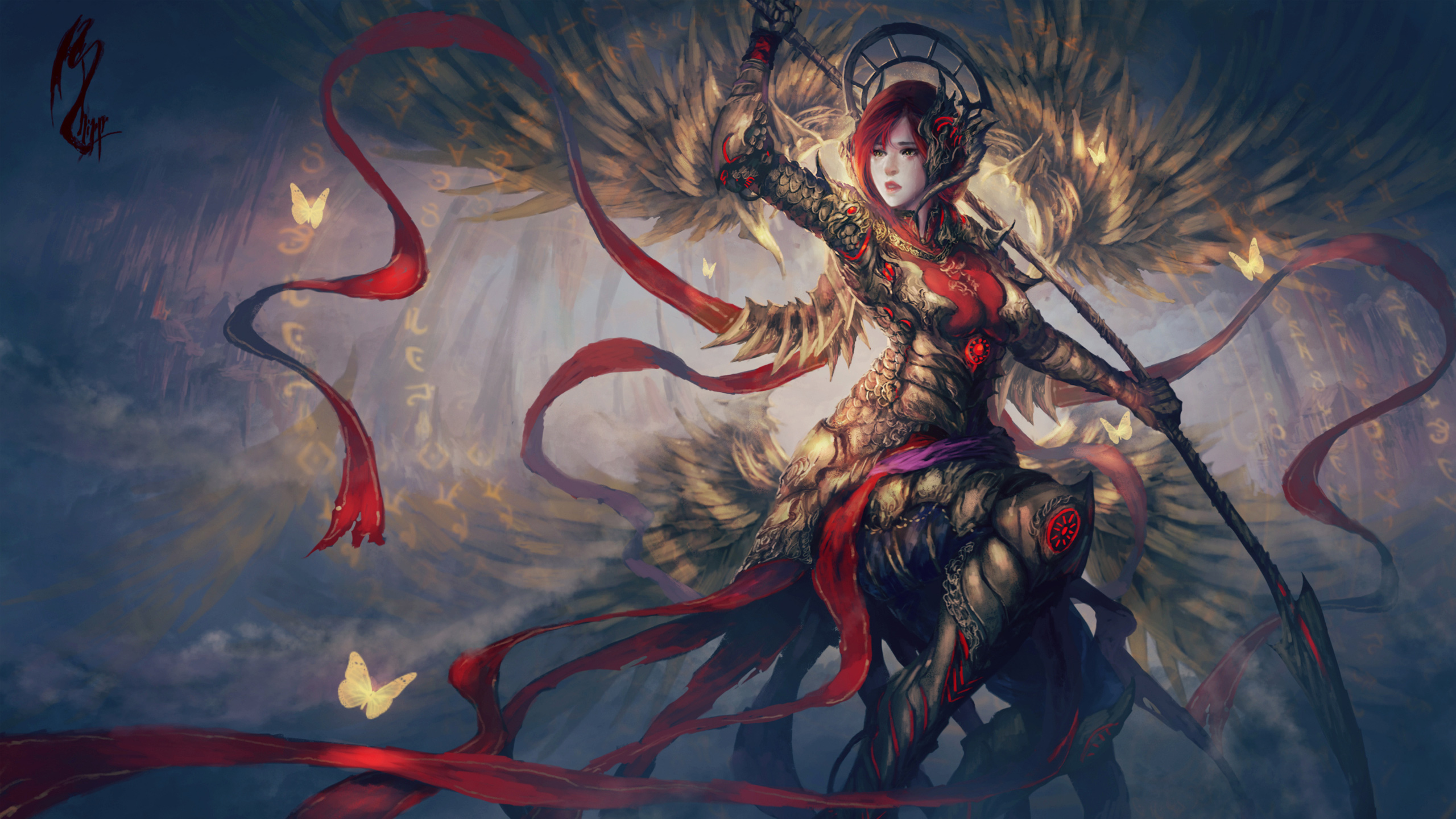 Fantasy Warrior Artwork218125775 - Fantasy Warrior Artwork - Warrior, Symmetra, Fantasy, Artwork