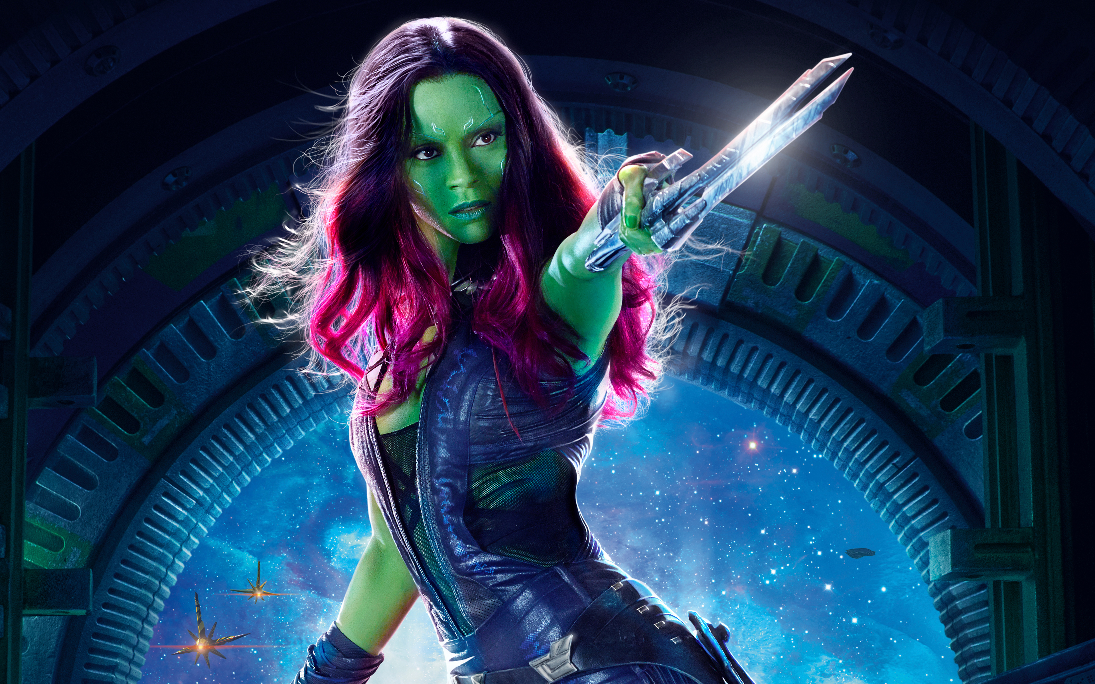 Gamora Guardians of the Galaxy Vol 2 4K HD309856447 - Gamora Guardians of the Galaxy Vol 2 4K HD - Vol, Valentine, The, Guardians, Gamora, Galaxy