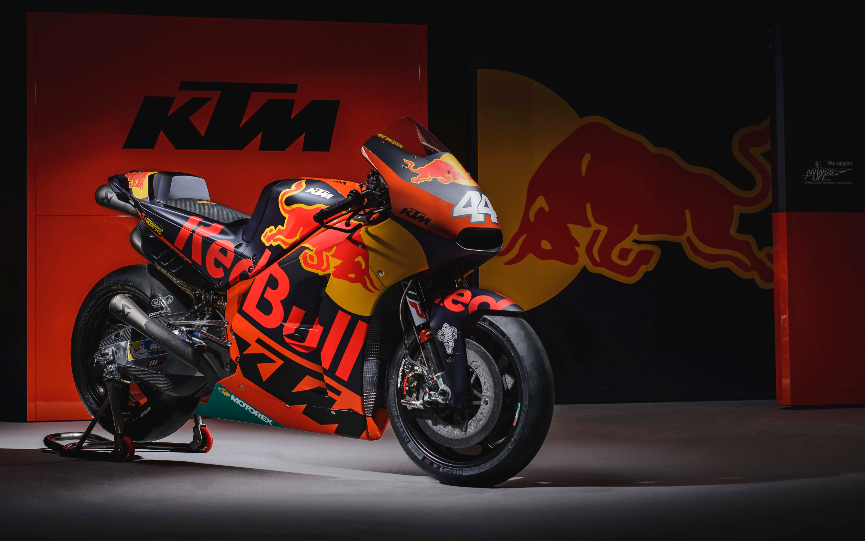 KTM RC16 MotoGP Race Bike 2017