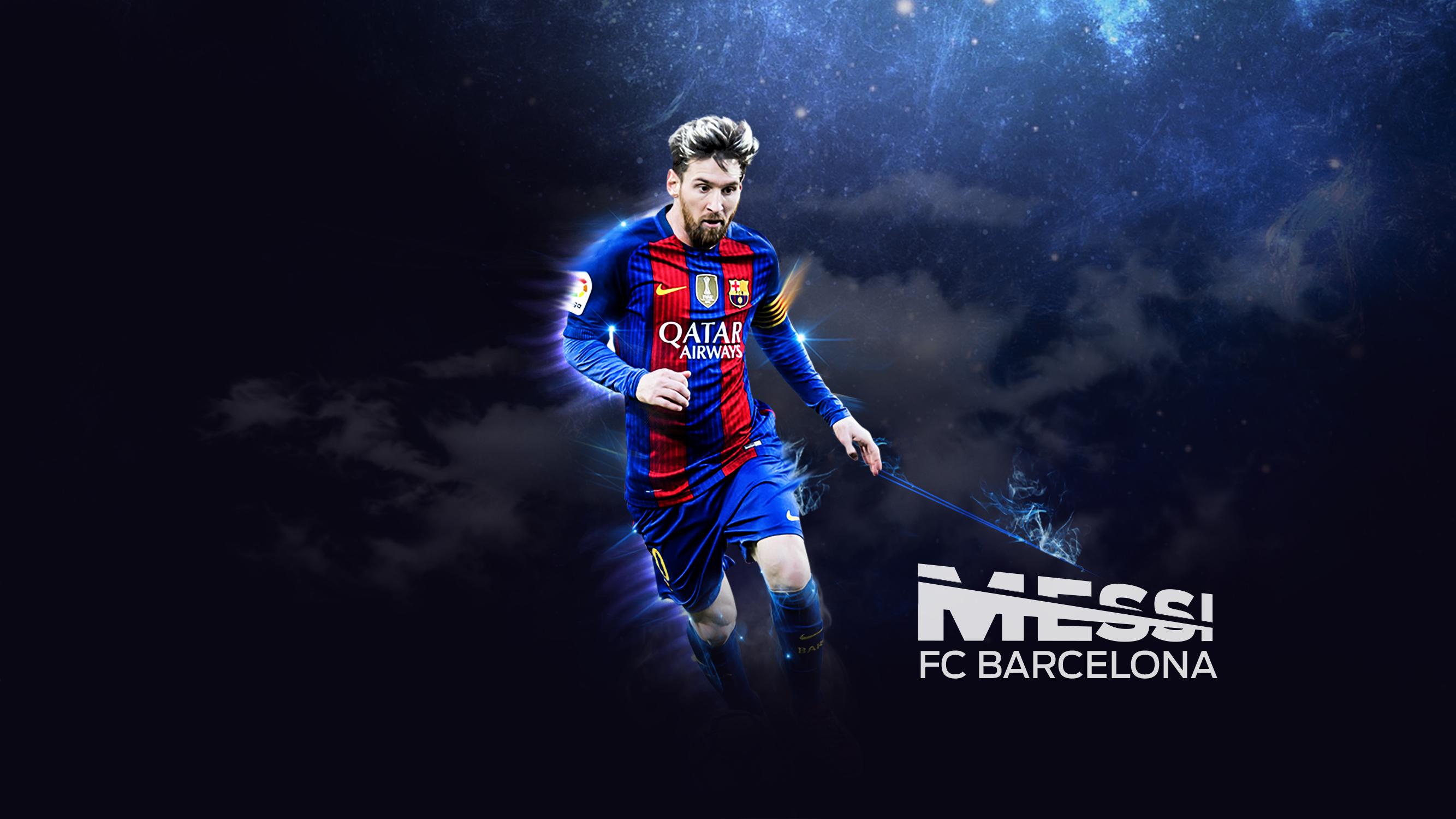 Wallpaper 4k Lionel Messi Fc Barcelona Footballer 2017 Barcelona Footballer Lionel Messi