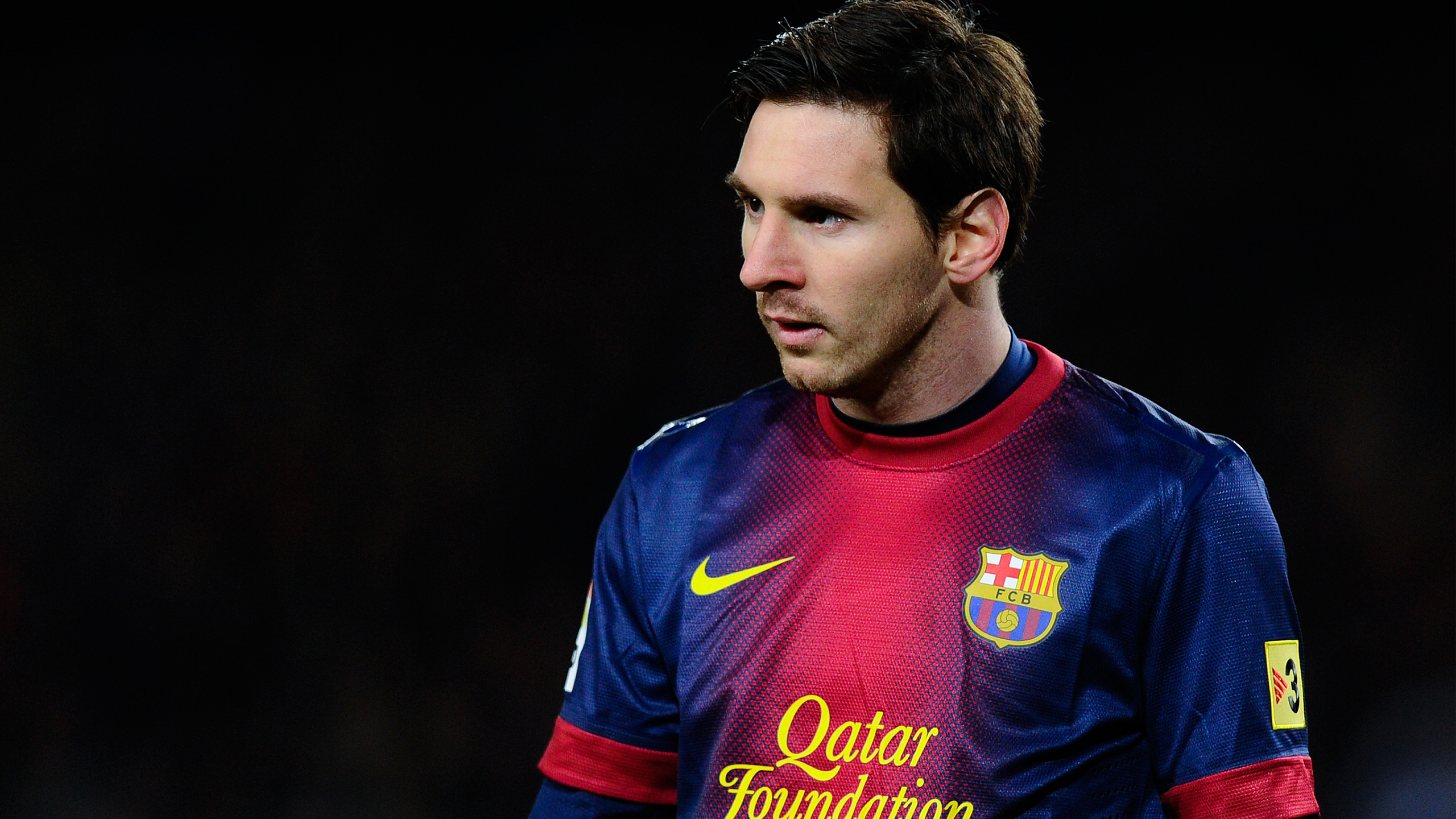 Wallpaper 4k Lionel Messi Fc Barcelona Barcelona Lionel Messi Wayne