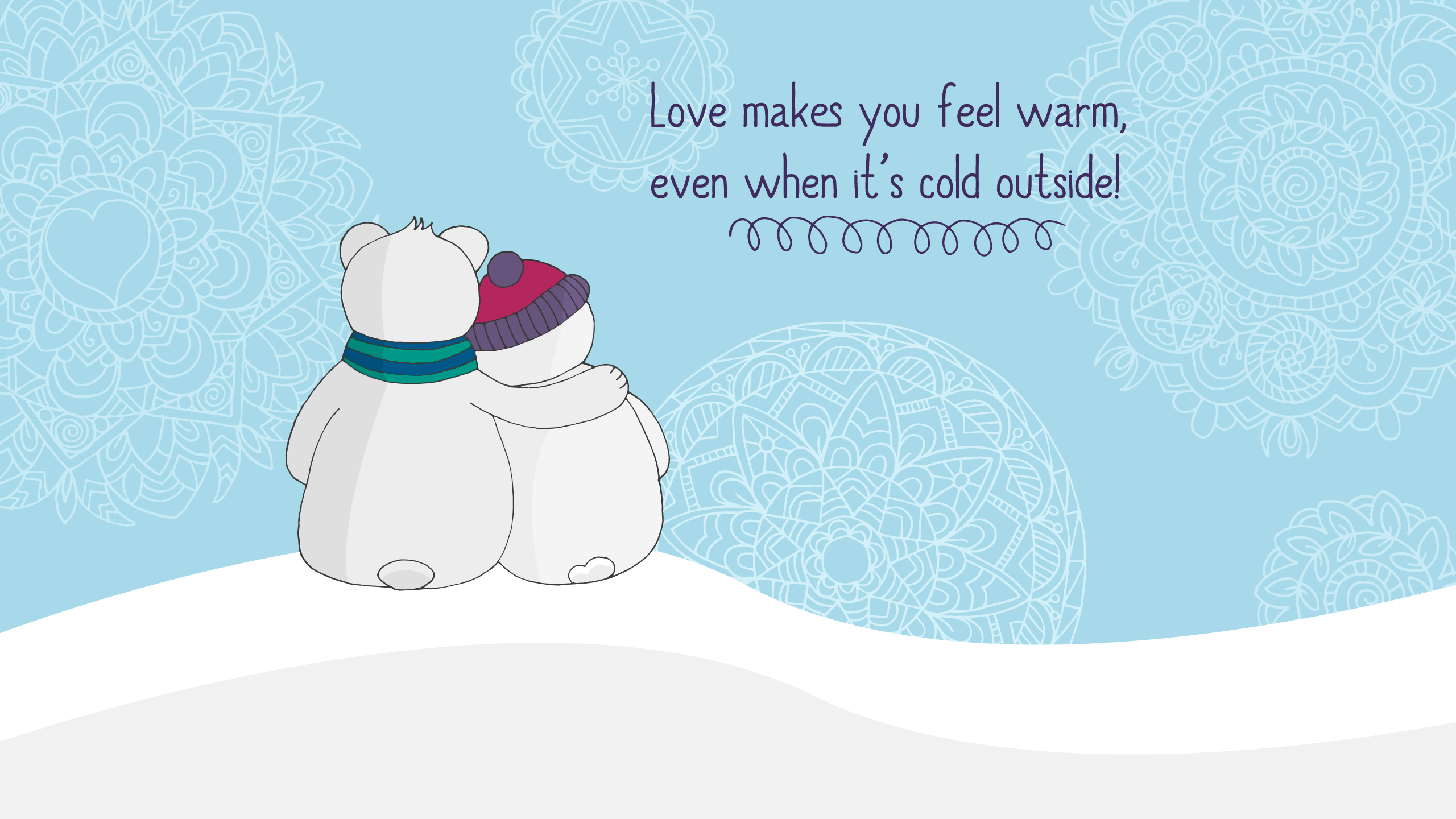 Love makes you warm9485814443 - Love makes you warm - You, Warm, makes, Love, Frozen