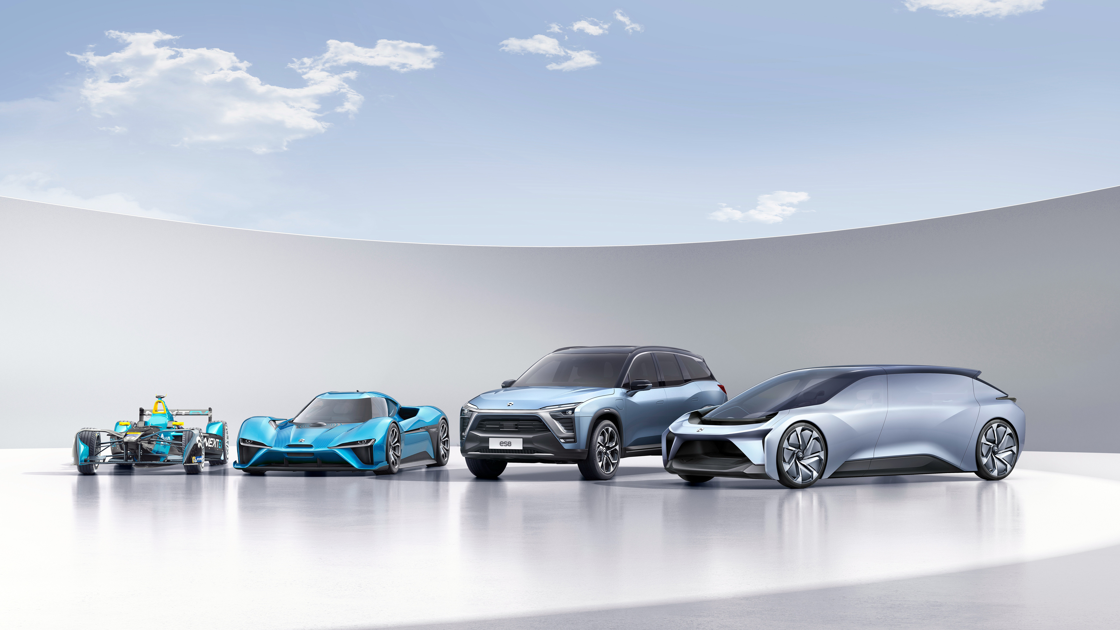 NextEV NIO Electric Cars 4K151569404 - NextEV NIO Electric Cars 4K - NIO, NextEV, Electric, Cars