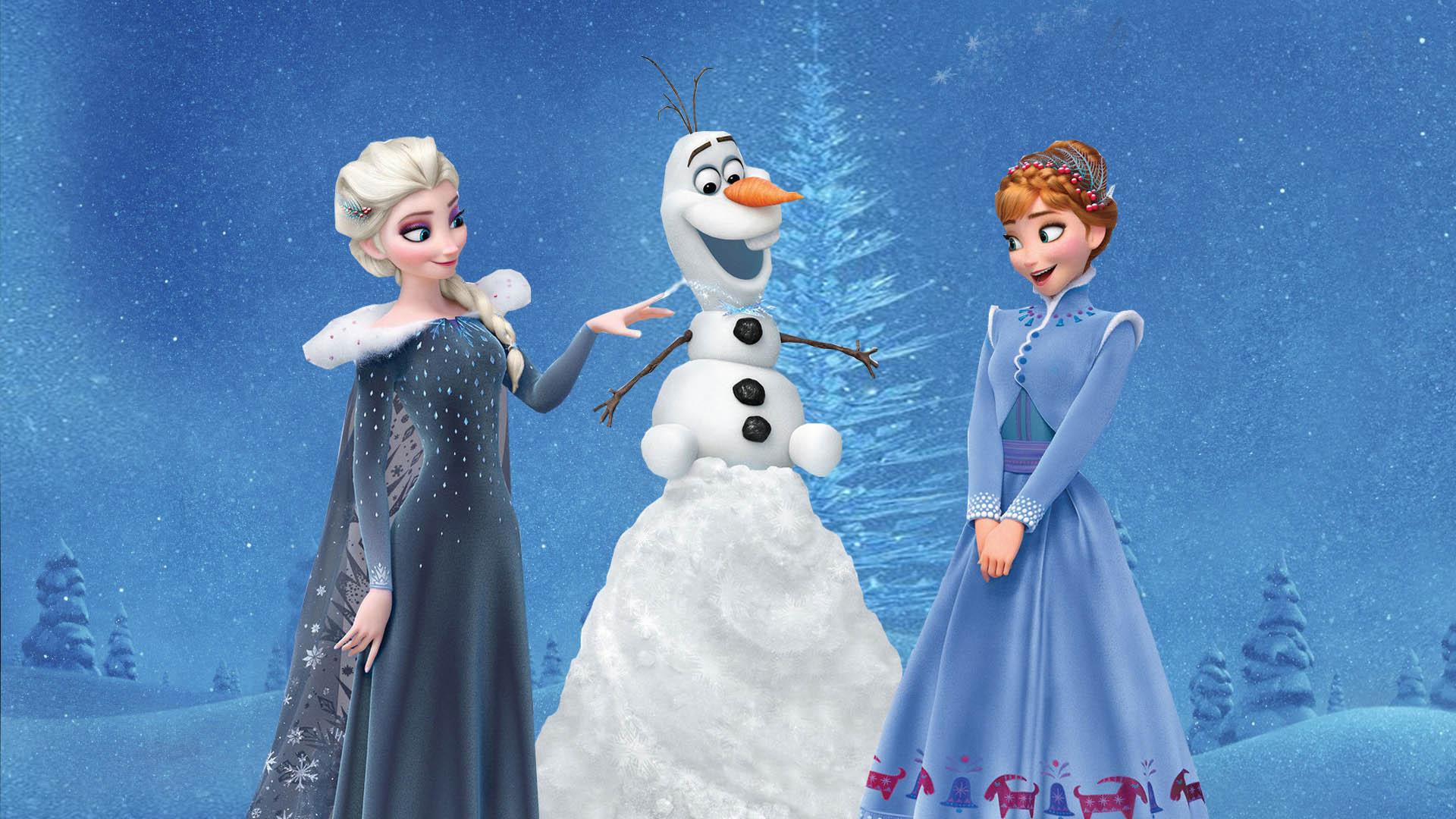 Wallpaper 4k Olafs Frozen Adventure Anna Elsa Adventure Anna