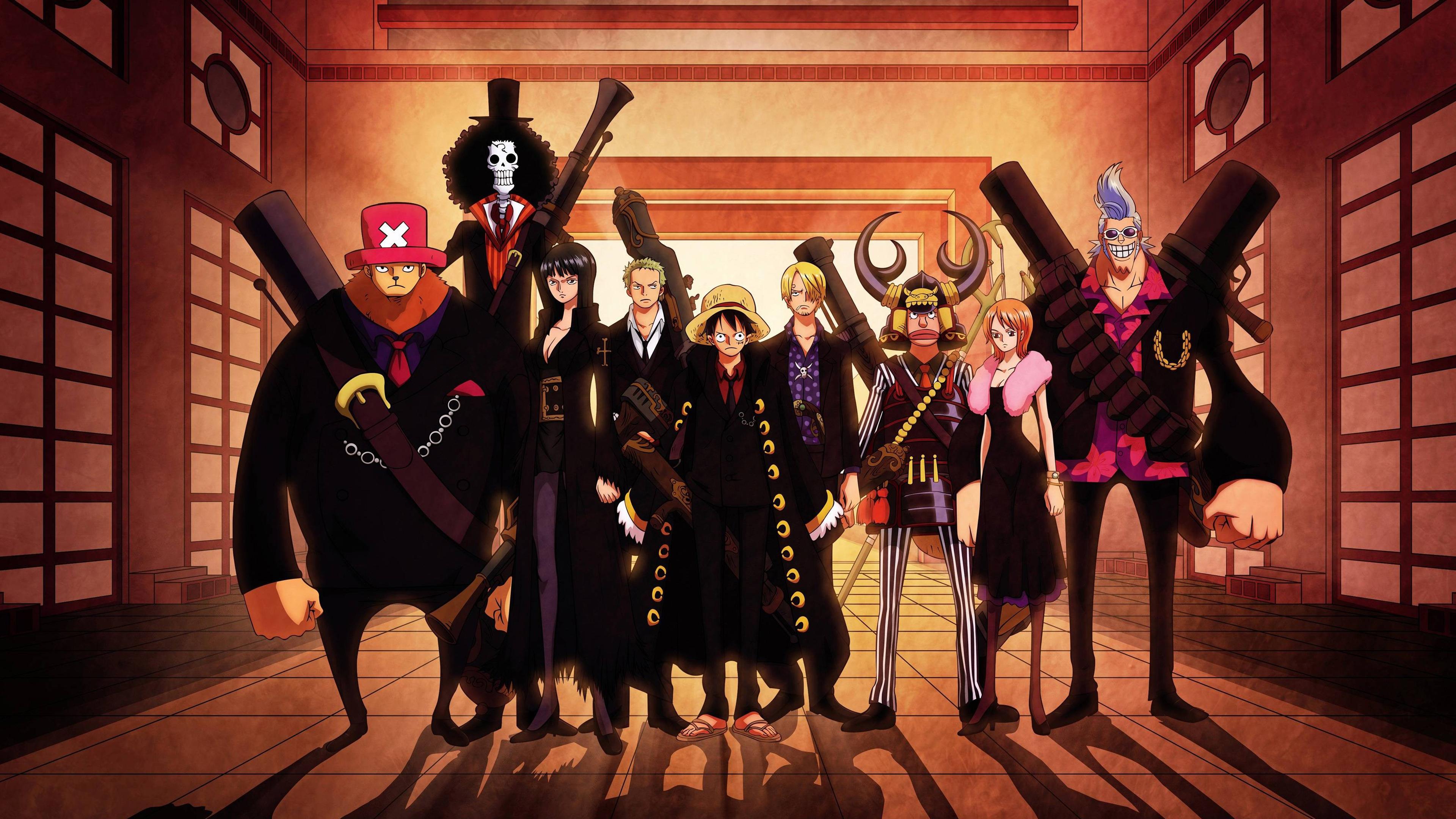 Wallpaper 4k One Piece Anime Anime Megumin Piece