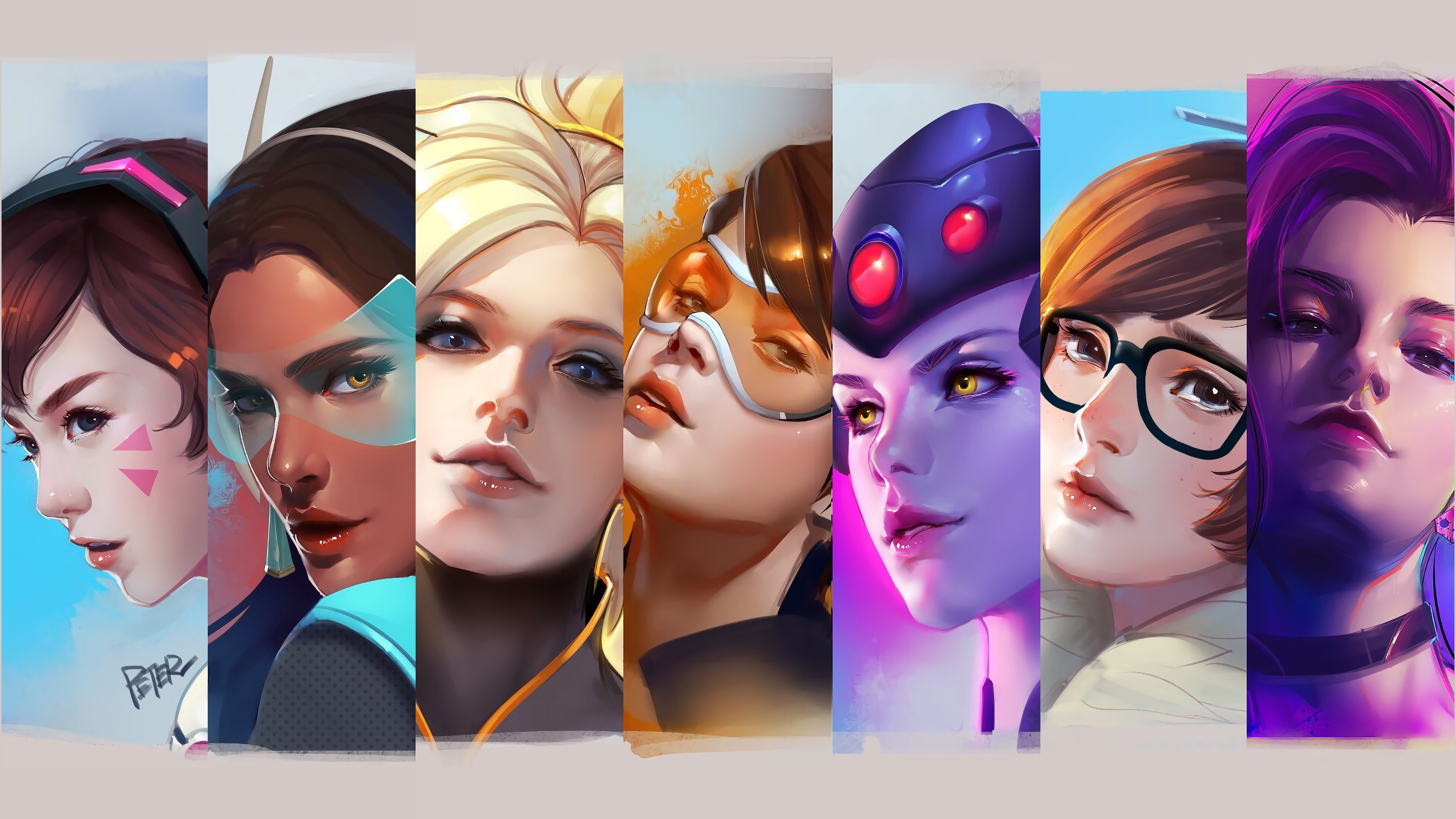 Overwatch Female Heroes 4K5802411098 - Overwatch Female Heroes 4K - Overwatch, Heroes, Female, 2018