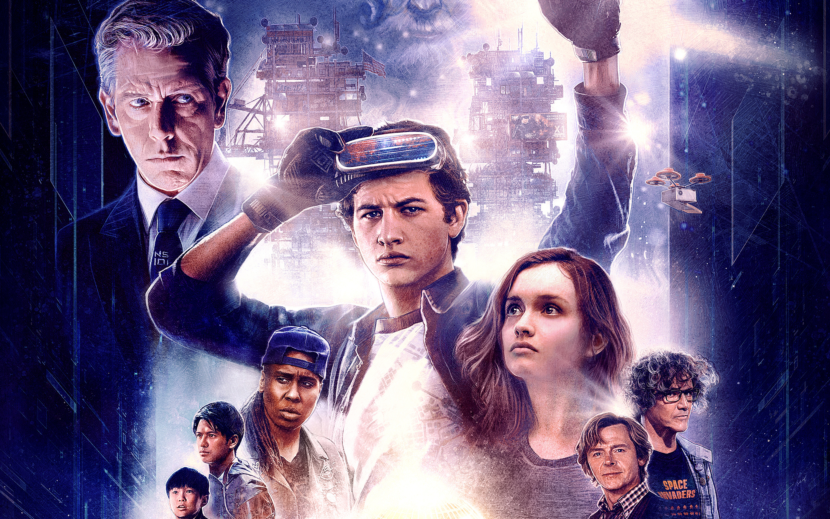 Ready Player One Artwork379065836 - Ready Player One Artwork - Ready, Rangasthalam, Player, One, Artwork