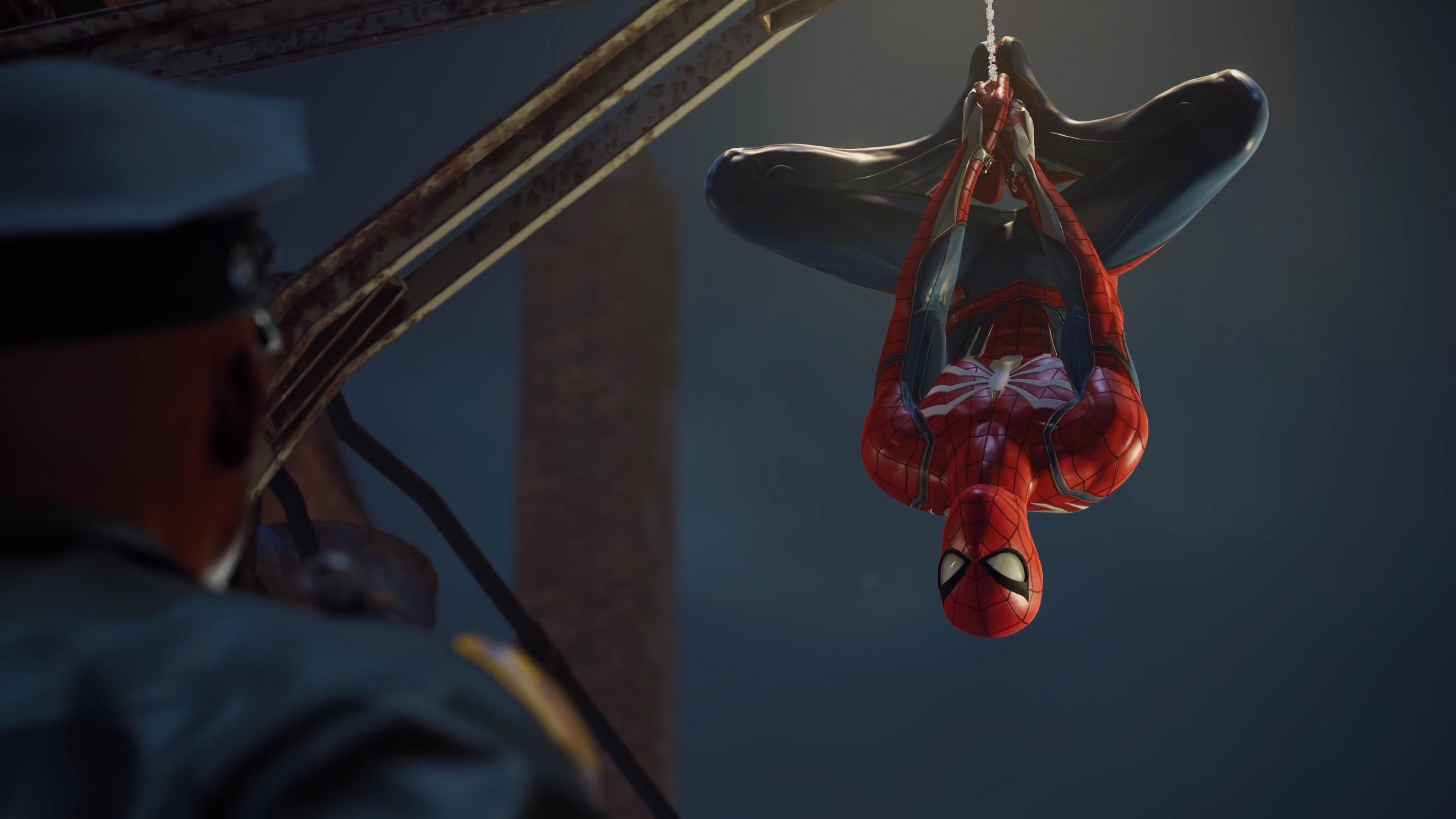 Wallpaper 4k Spider Man Ps4 2018 4k 2018 Man Ps4 Spider Titanfall
